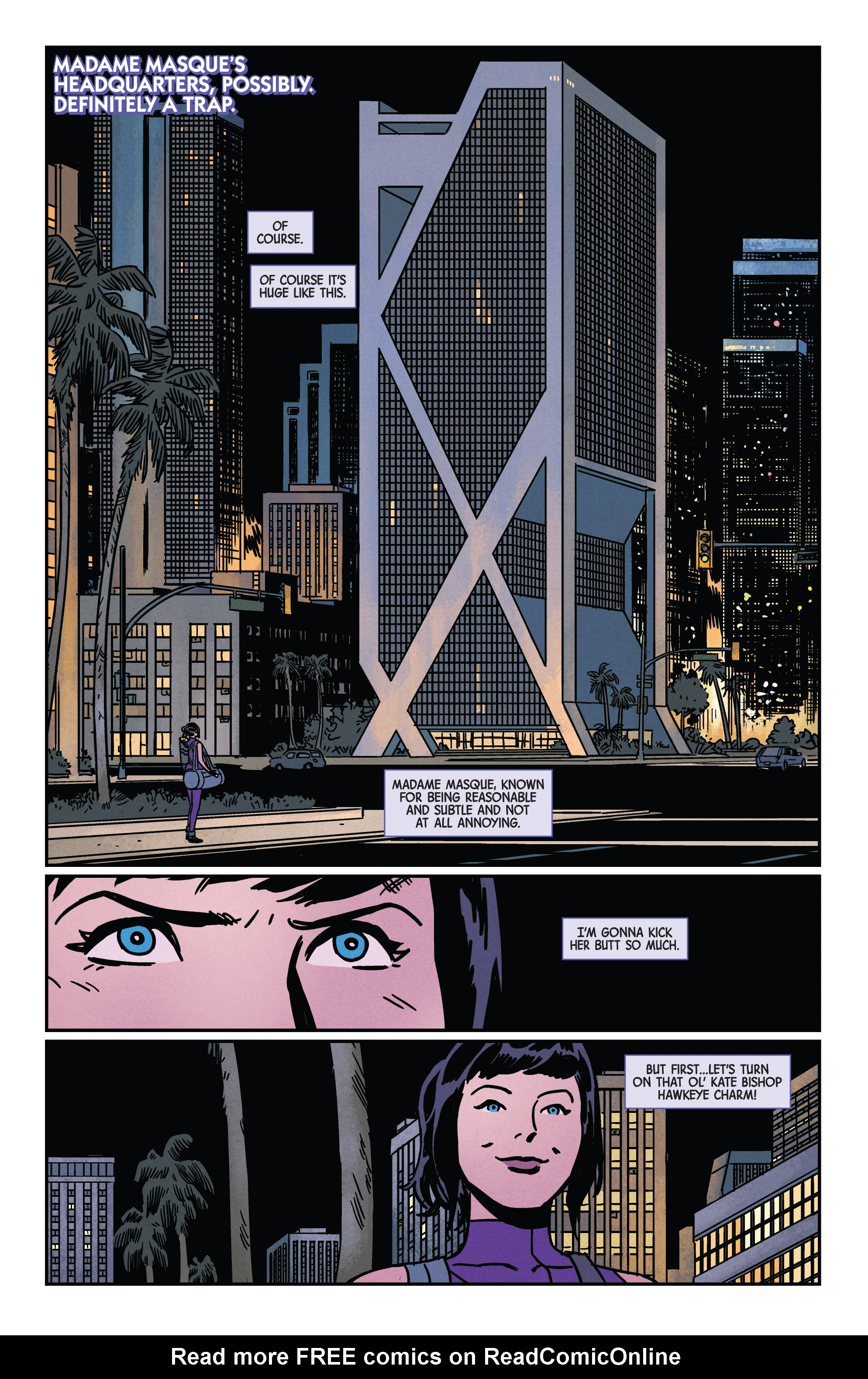 Read online Hawkeye (2016) comic -  Issue #7 - 8