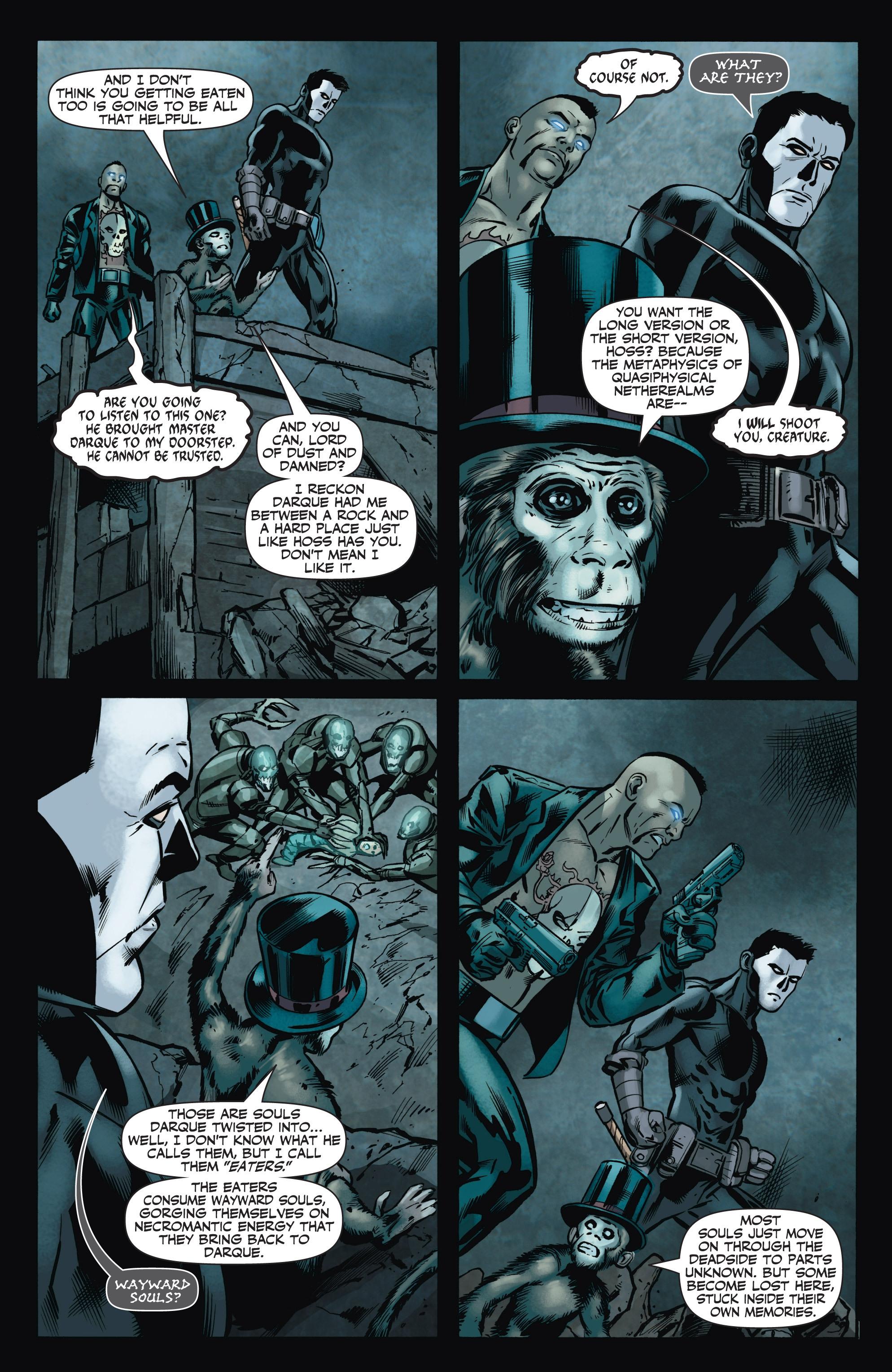 Read online Shadowman (2012) comic -  Issue #8 - 19