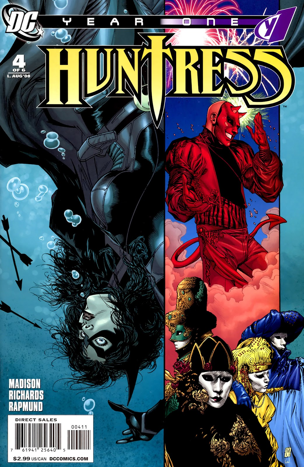 Huntress: Year One issue 4 - Page 1