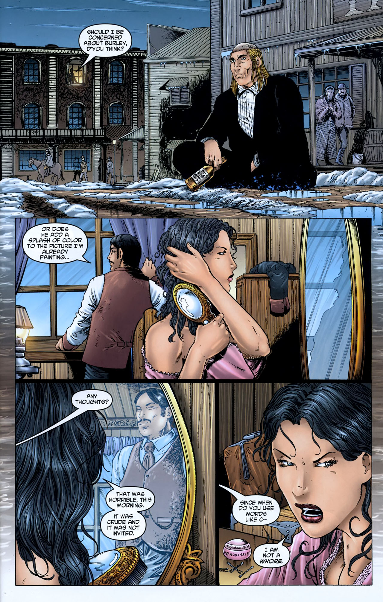 Read online Garth Ennis' Streets of Glory comic -  Issue #5 - 9