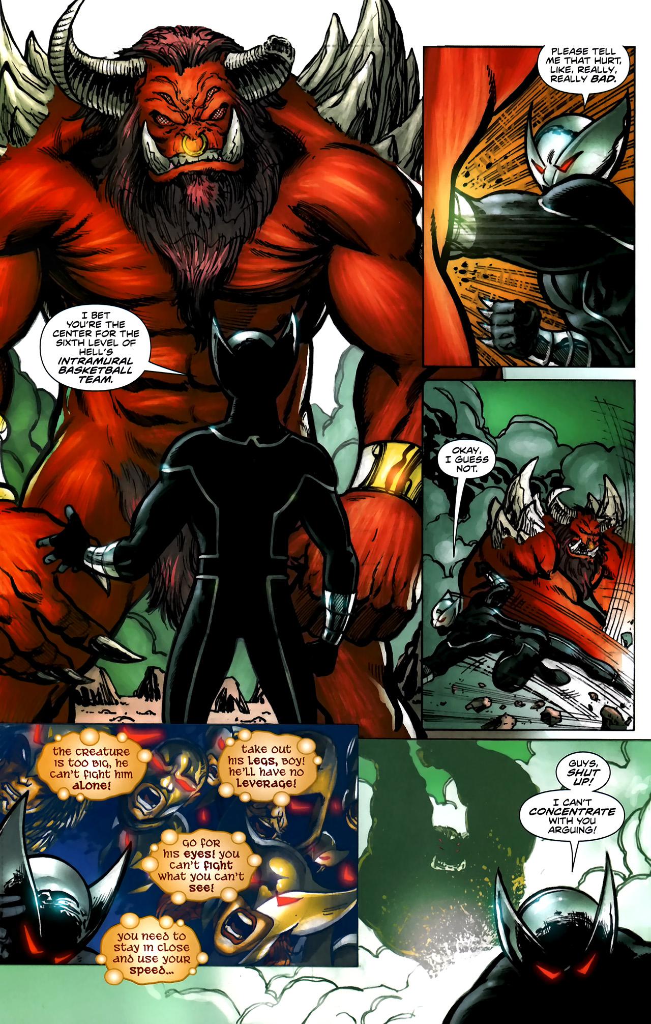 Read online ShadowHawk (2010) comic -  Issue #5 - 15