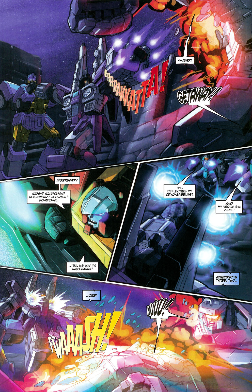 """Read online Transformers War Within: """"The Age of Wrath"""" comic -  Issue #3 - 8"""