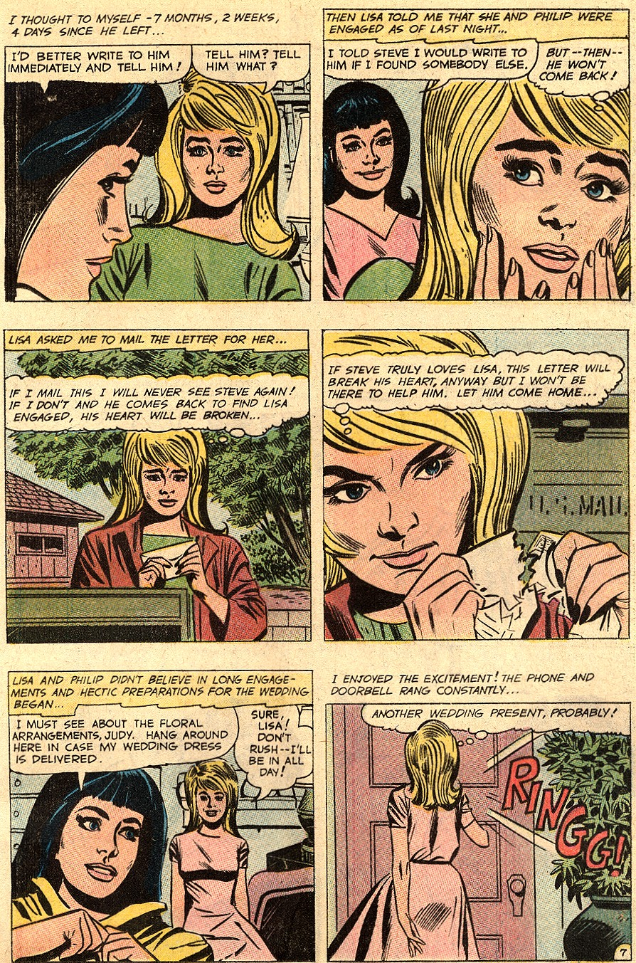 Read online Secret Hearts comic -  Issue #150 - 21