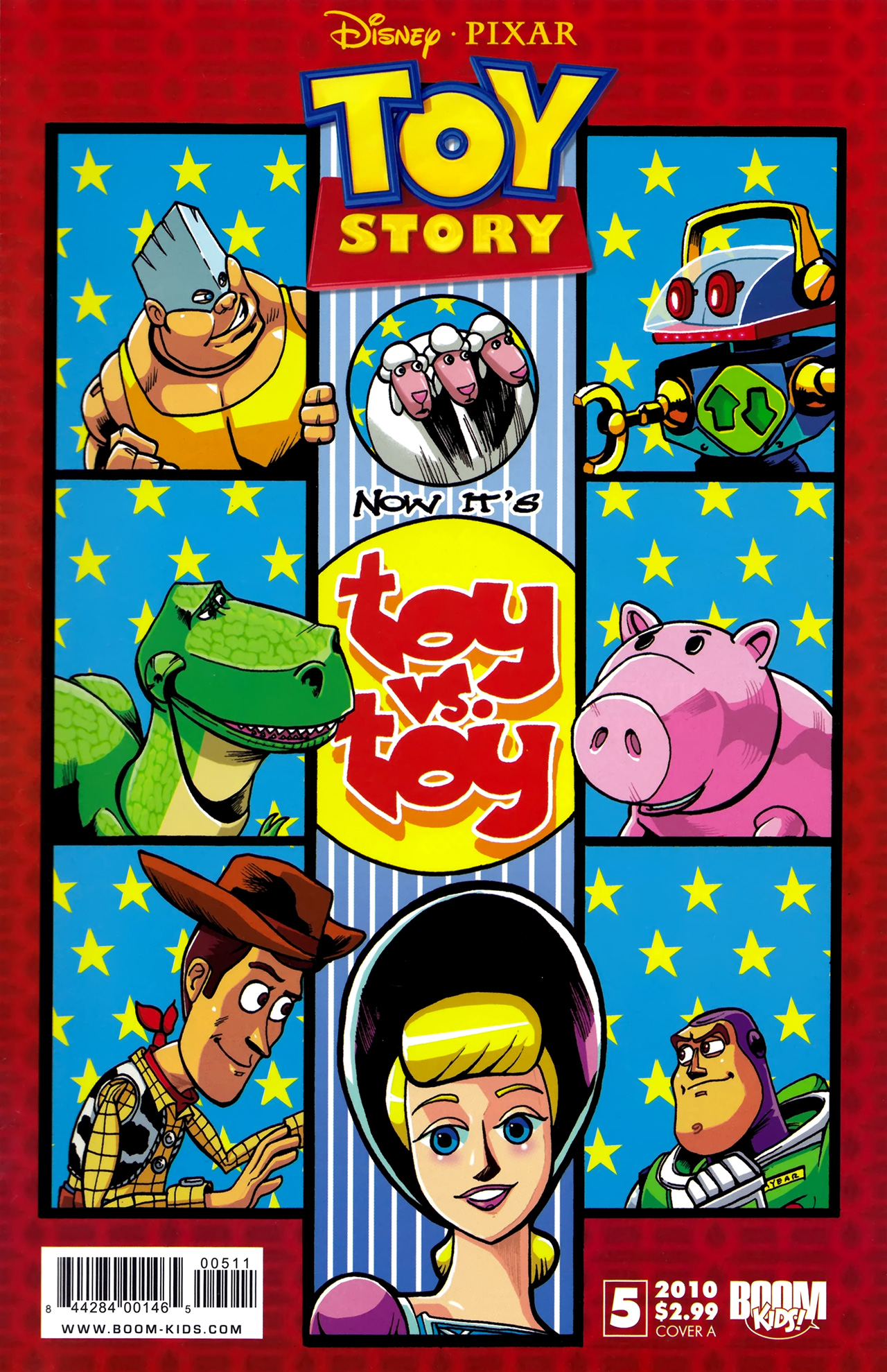 Read online Toy Story (2009) comic -  Issue #5 - 1