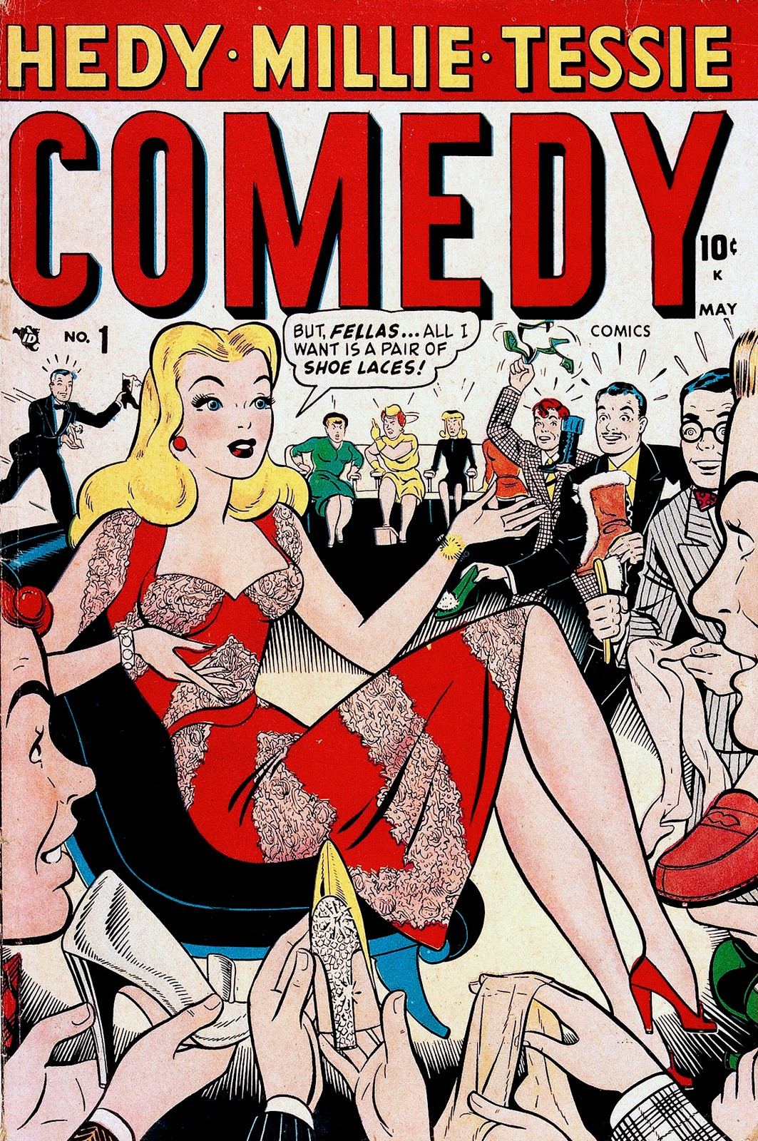 Comedy Comics (1948) issue 1 - Page 1