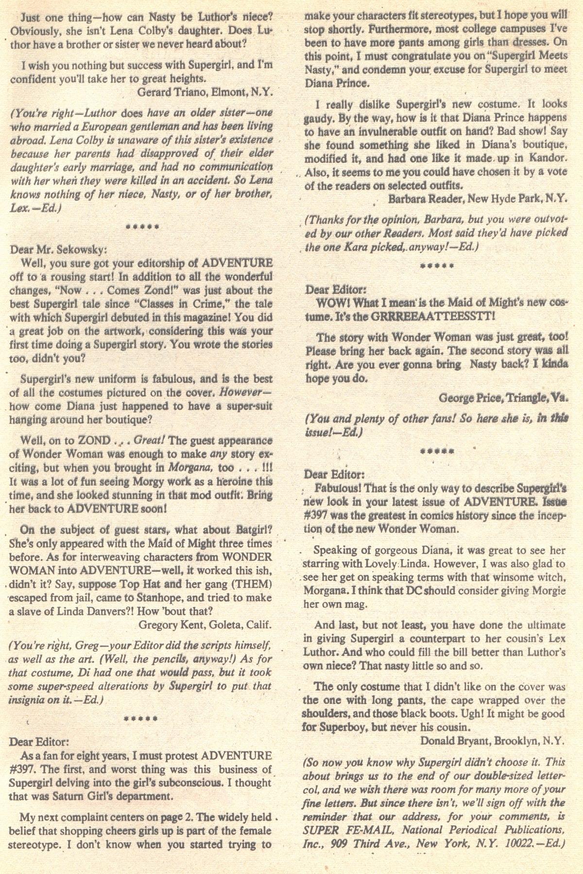 Read online Adventure Comics (1938) comic -  Issue #401 - 33