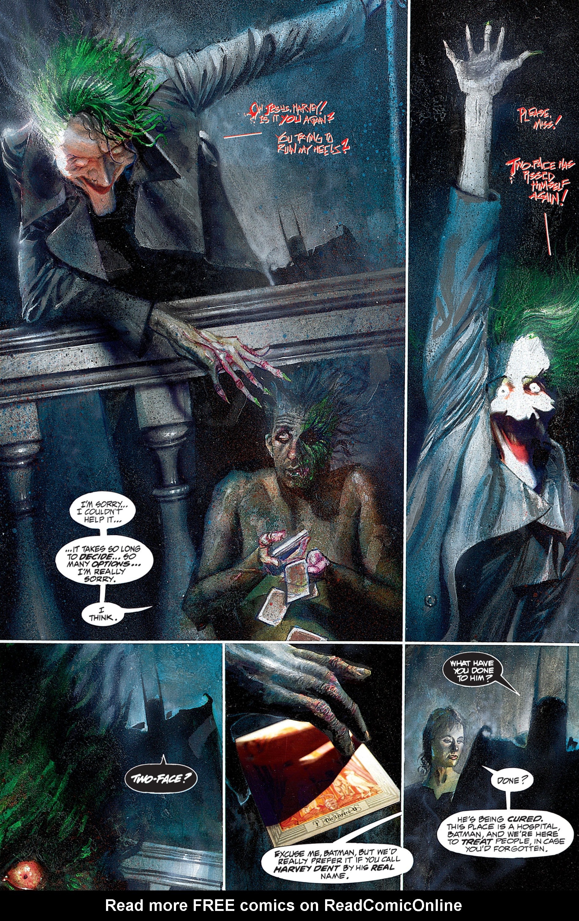 Read online Arkham Asylum comic -  Issue #Arkham Asylum Full - 32