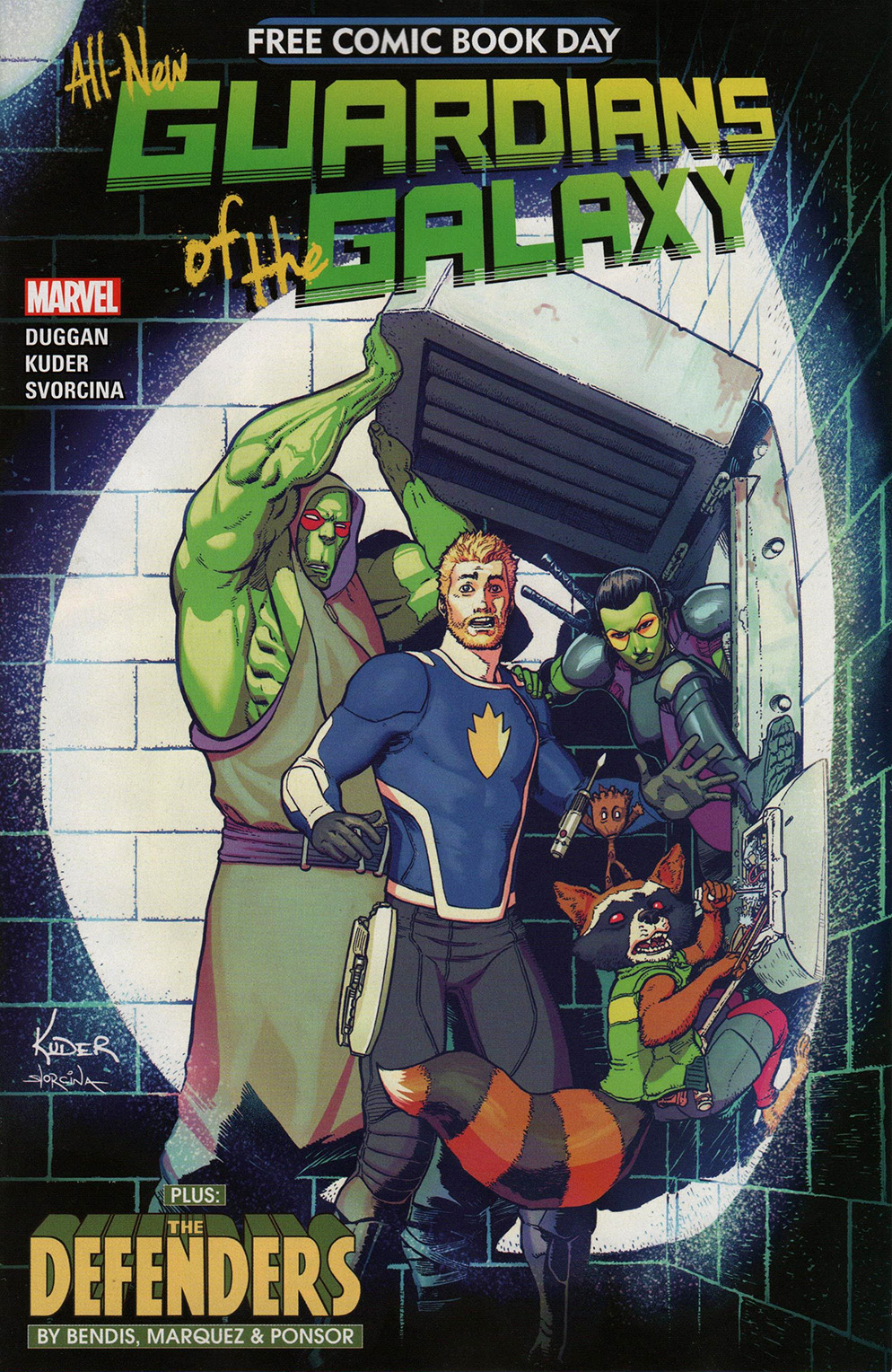 Read online Free Comic Book Day 2017 comic -  Issue # All-New Guardians of the Galaxy - 1