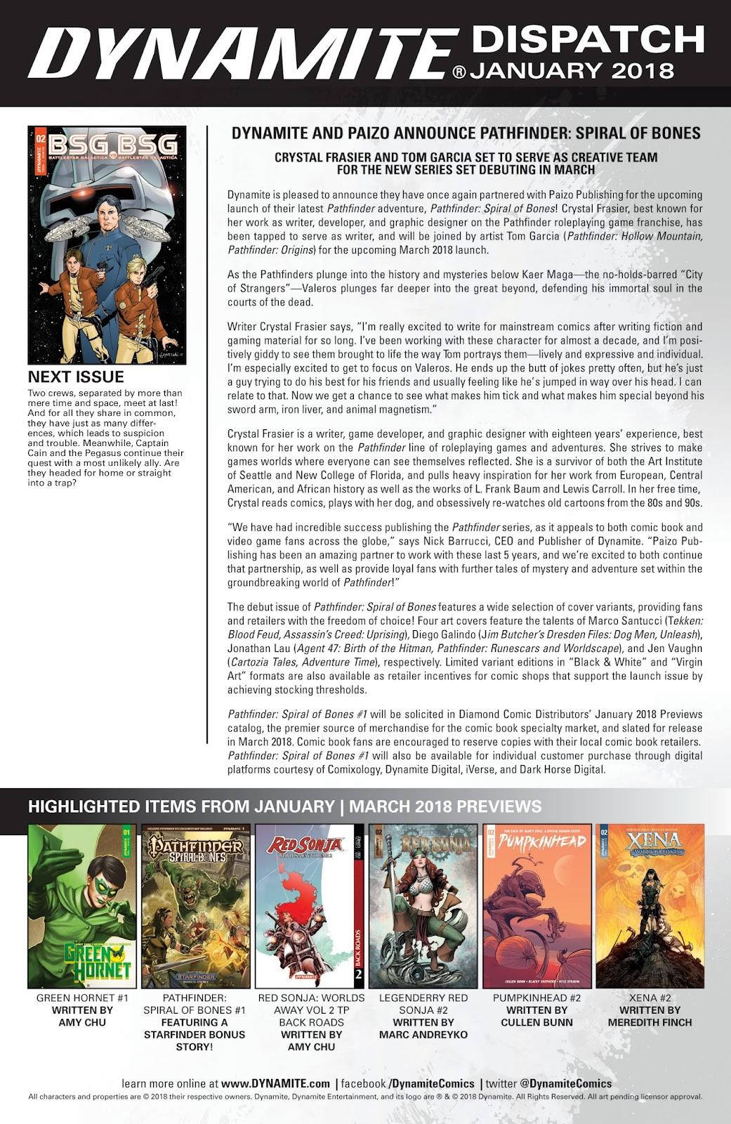 Battlestar Galactica BSG vs. BSG issue 1 - Page 26