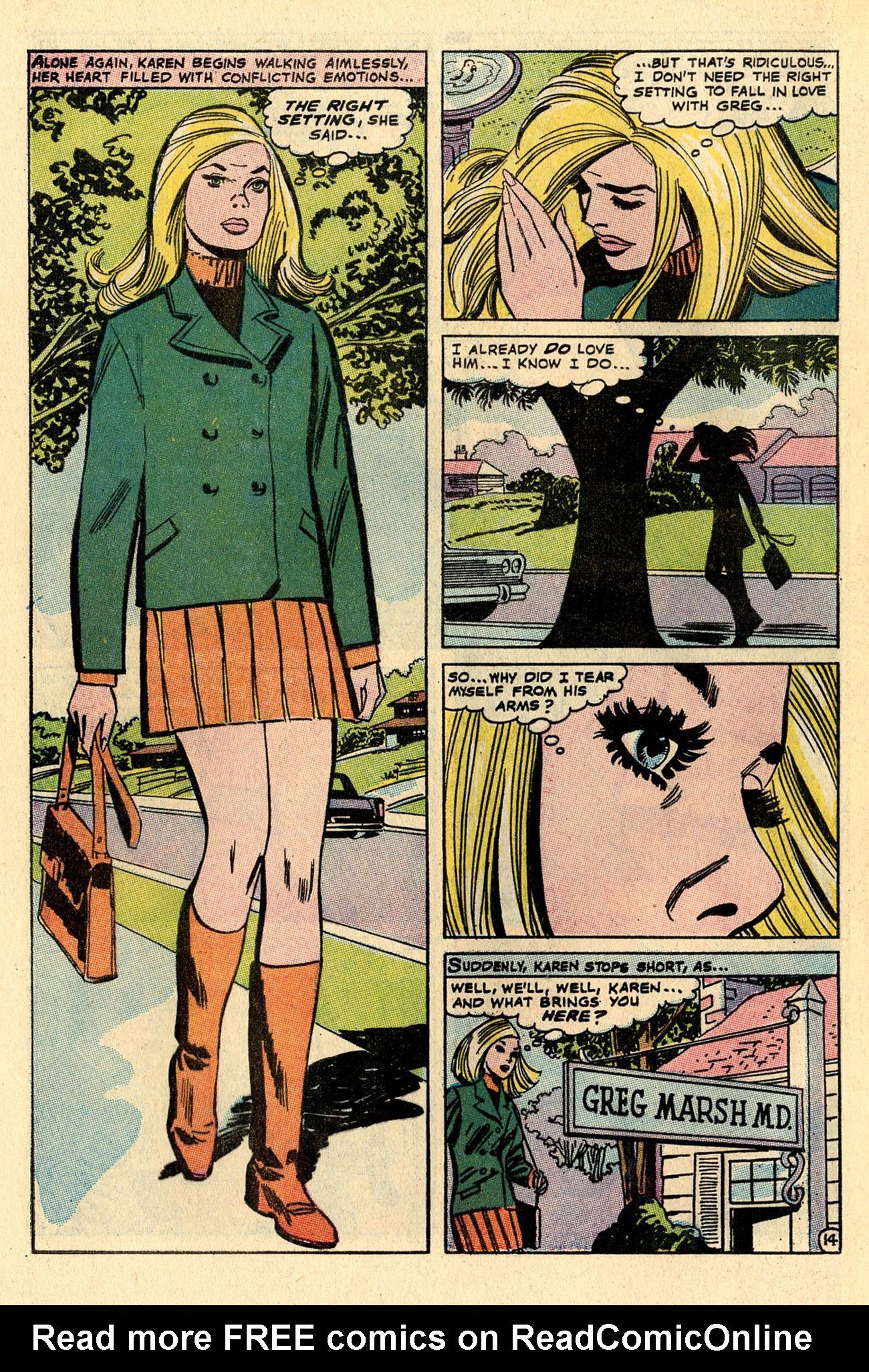 Read online Secret Hearts comic -  Issue #137 - 32