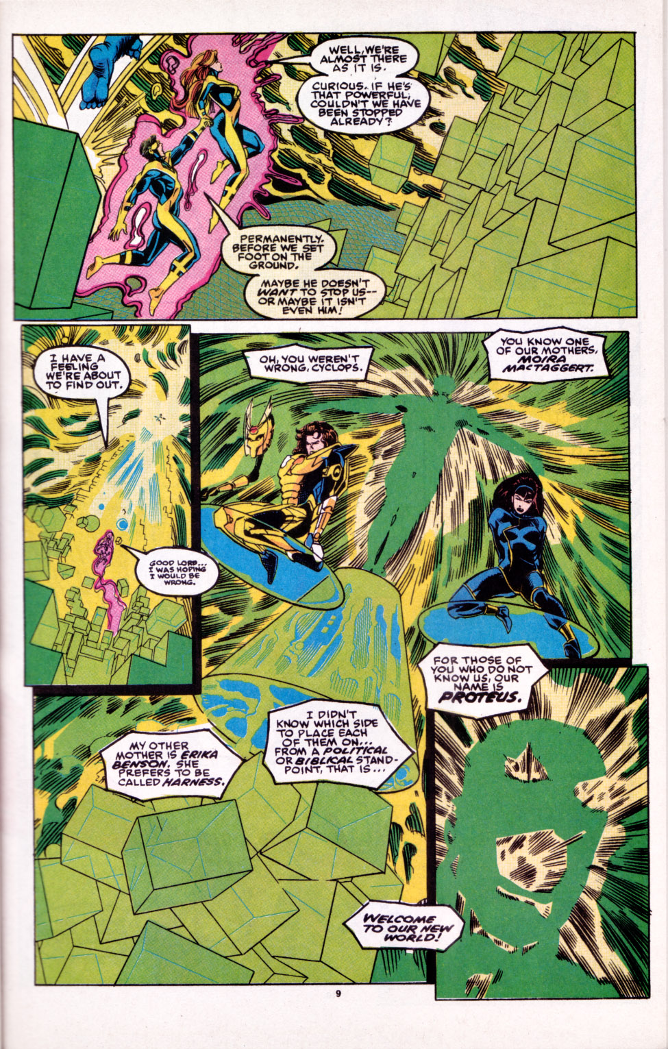 Read online X-Factor (1986) comic -  Issue # _ Annual 6 - 8