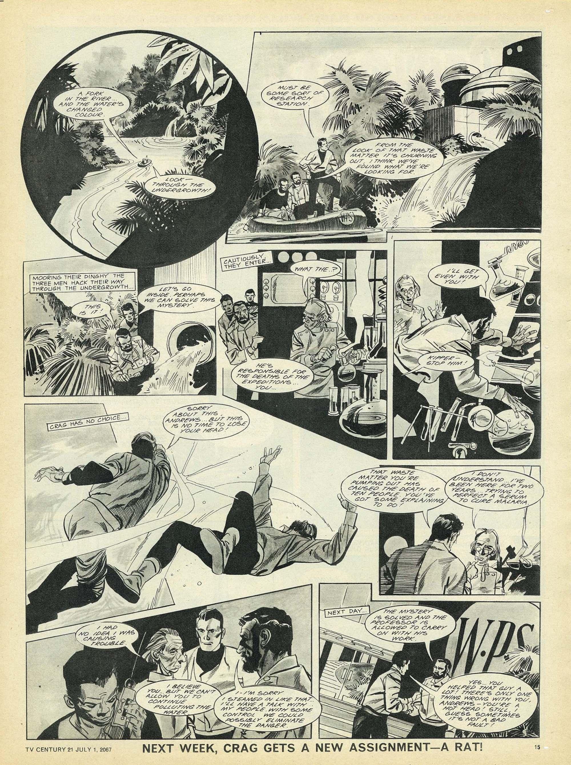 Read online TV Century 21 (TV 21) comic -  Issue #128 - 14