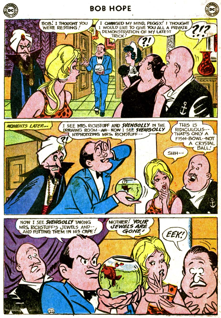 The Adventures of Bob Hope issue 77 - Page 30