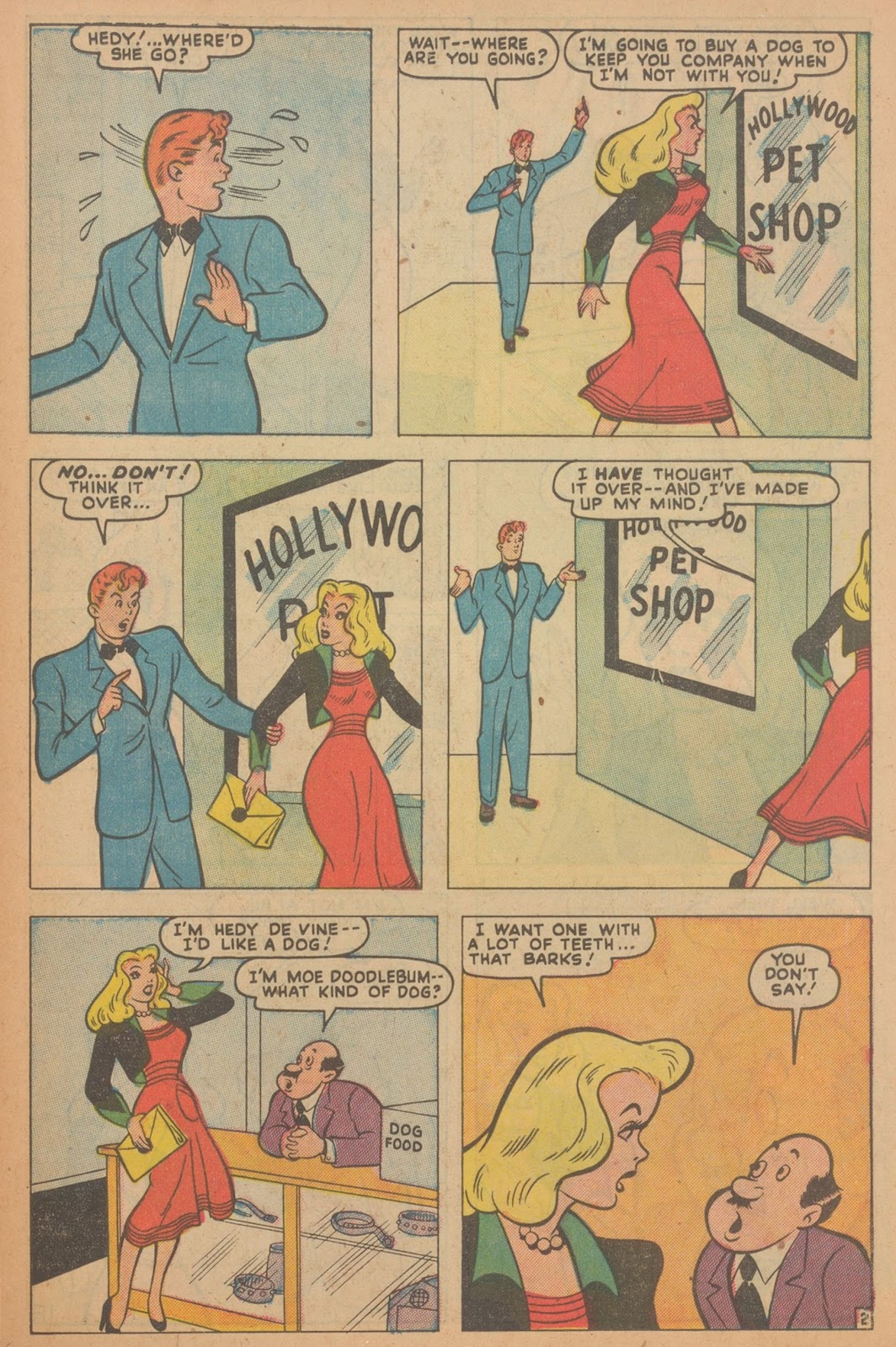 Read online Nellie The Nurse (1945) comic -  Issue #22 - 37