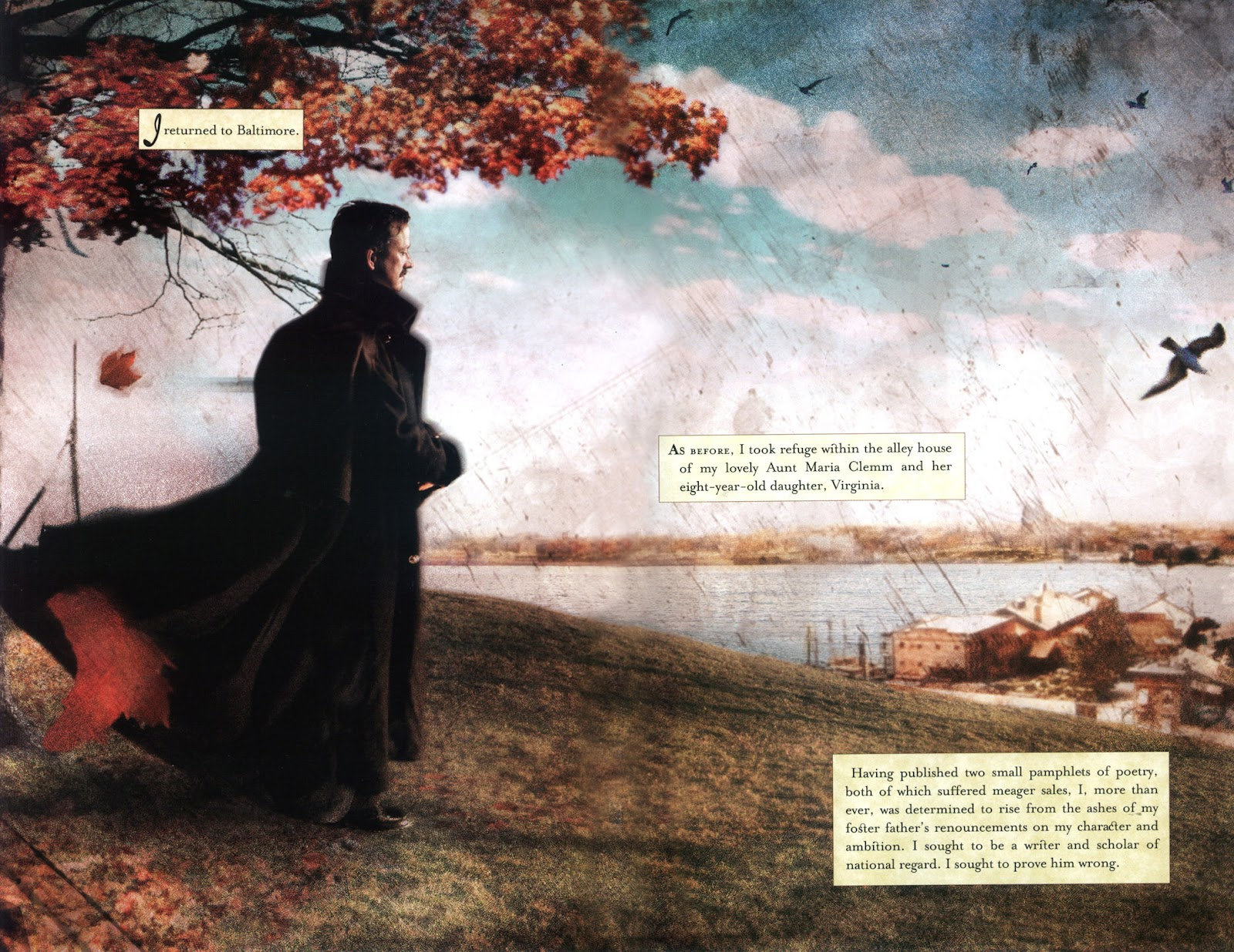 Read online In the Shadow of Edgar Allan Poe comic -  Issue # TPB - 8
