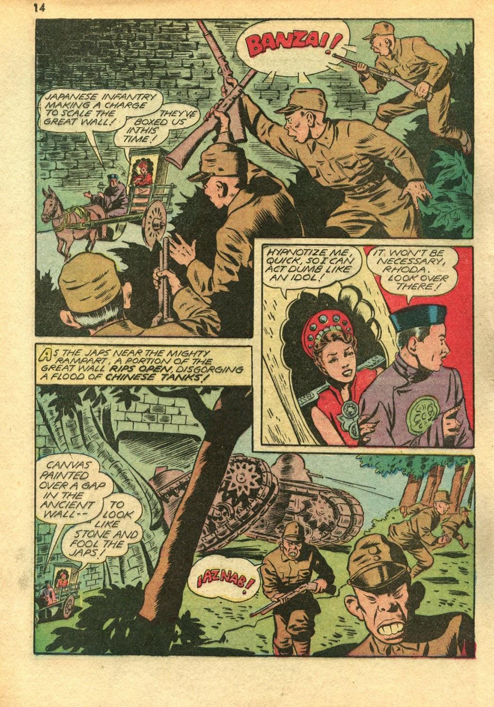 Read online Super-Magician Comics comic -  Issue #14 - 14