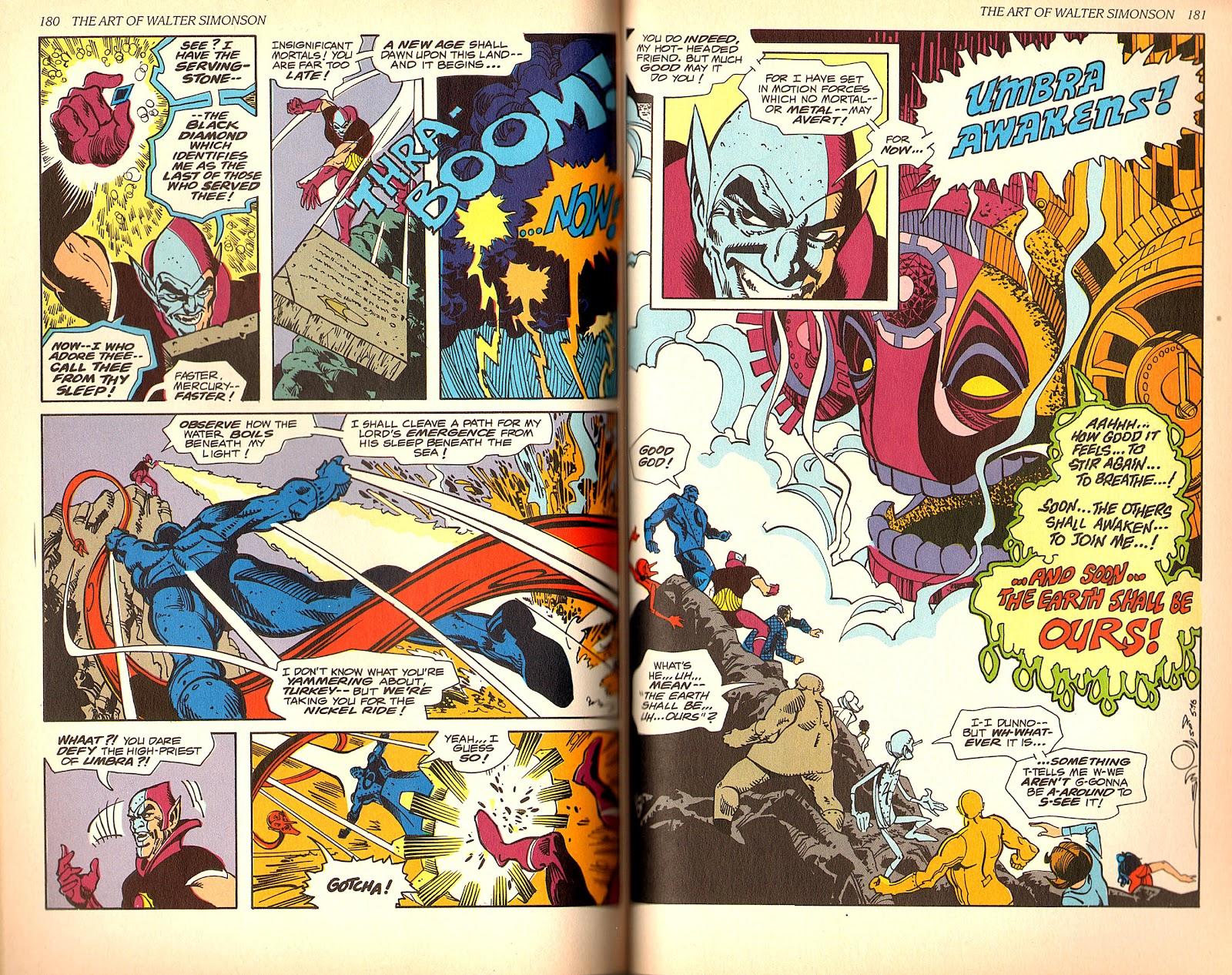 Read online The Art of Walter Simonson comic -  Issue # TPB - 92