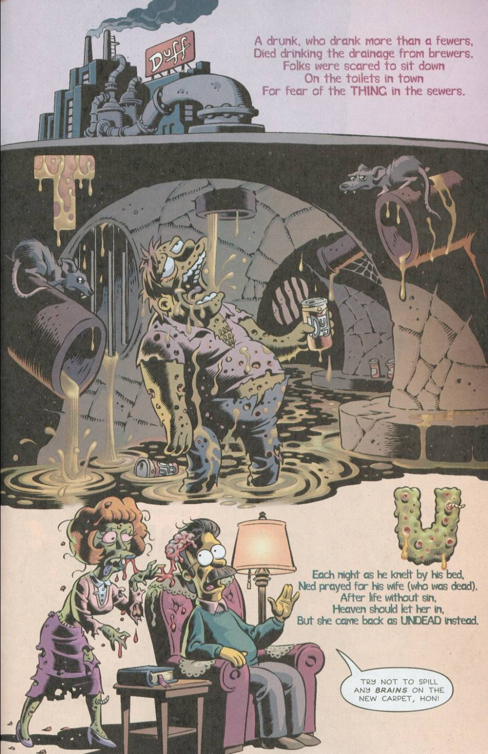 Read online Treehouse of Horror comic -  Issue #8 - 42