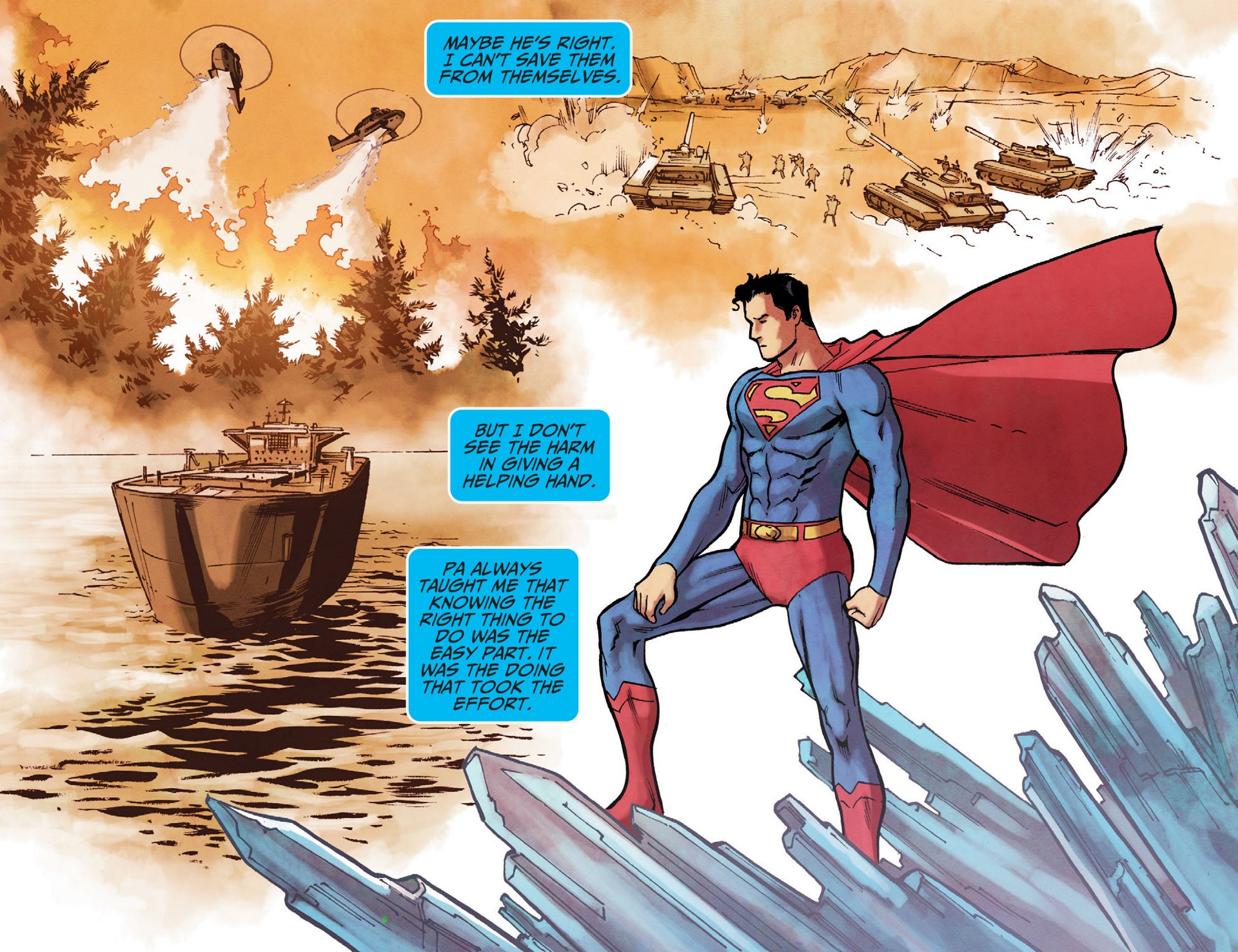 Read online Adventures of Superman [I] comic -  Issue #16 - 18