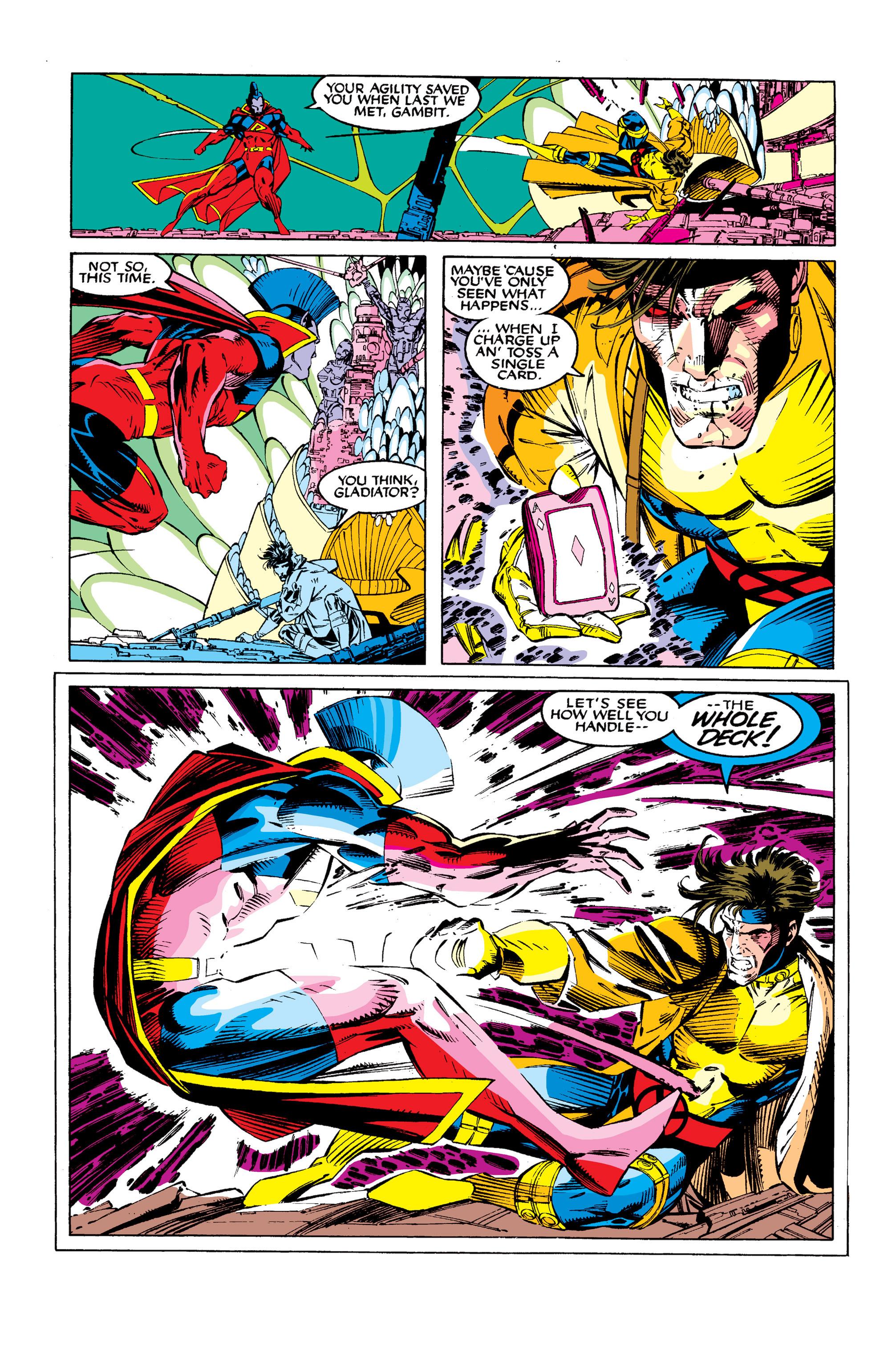 Read online Uncanny X-Men (1963) comic -  Issue #277 - 15