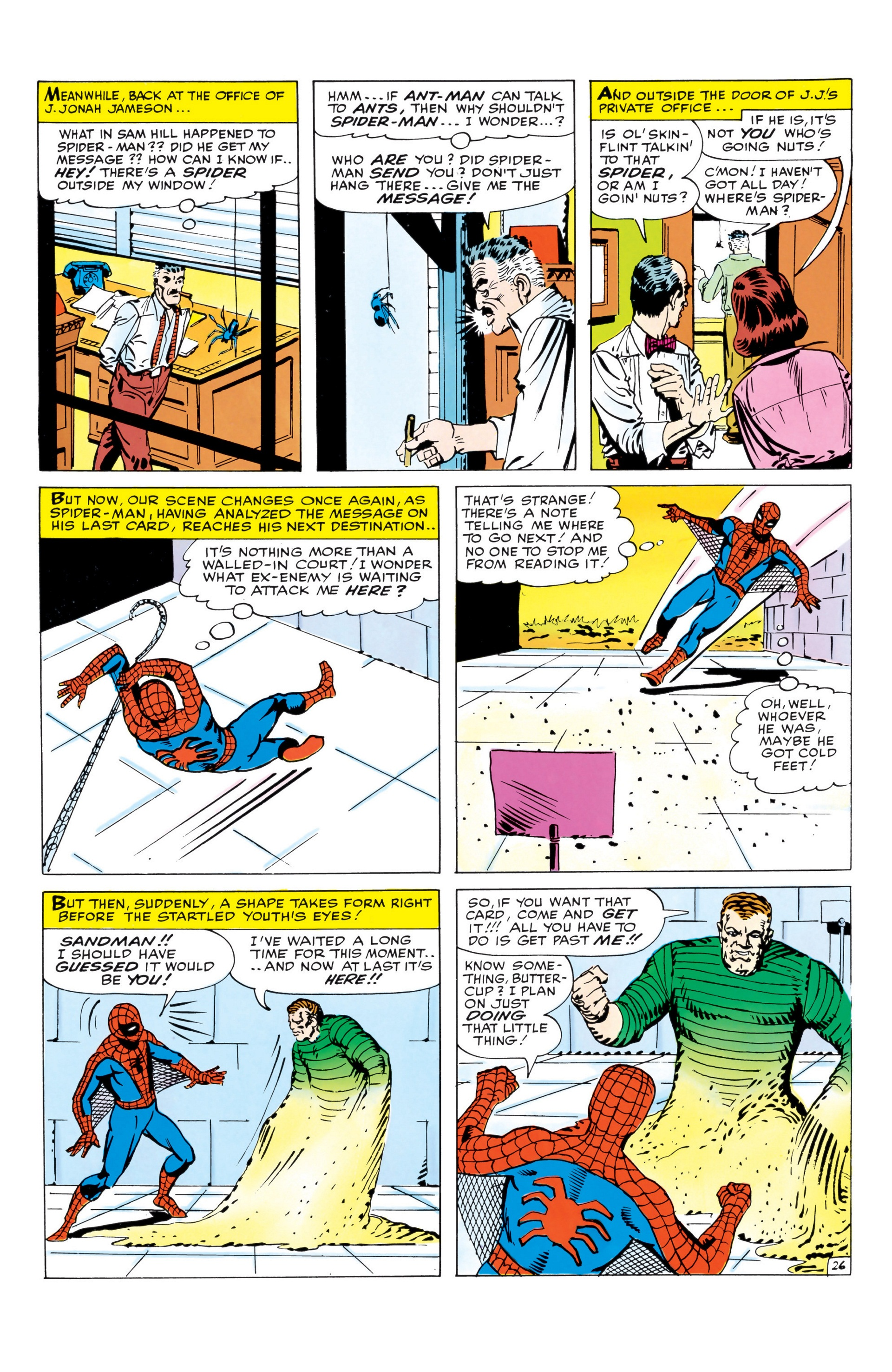 The Amazing Spider-Man (1963) _Annual_1 Page 26