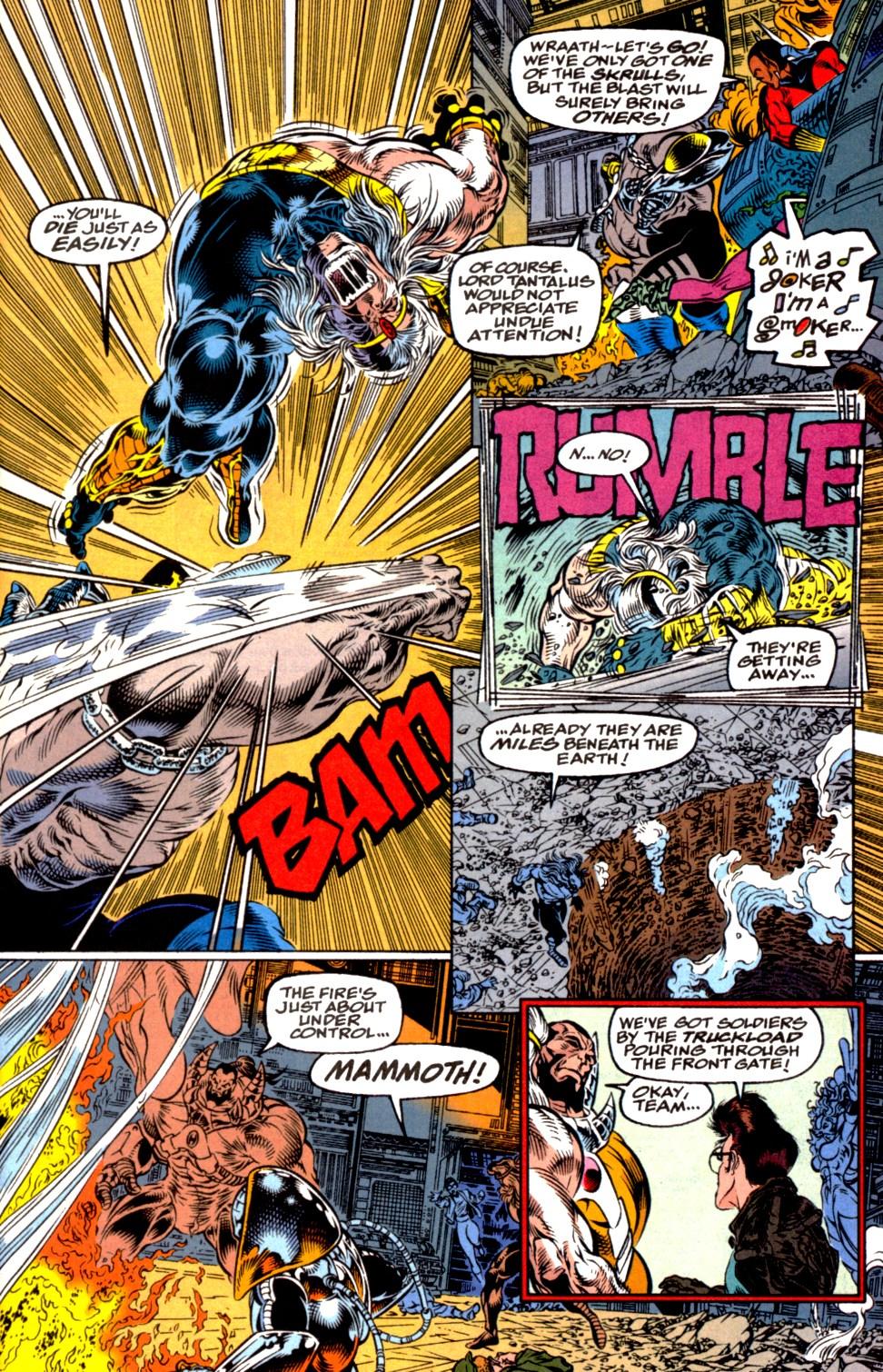 Read online Blackwulf comic -  Issue #2 - 21