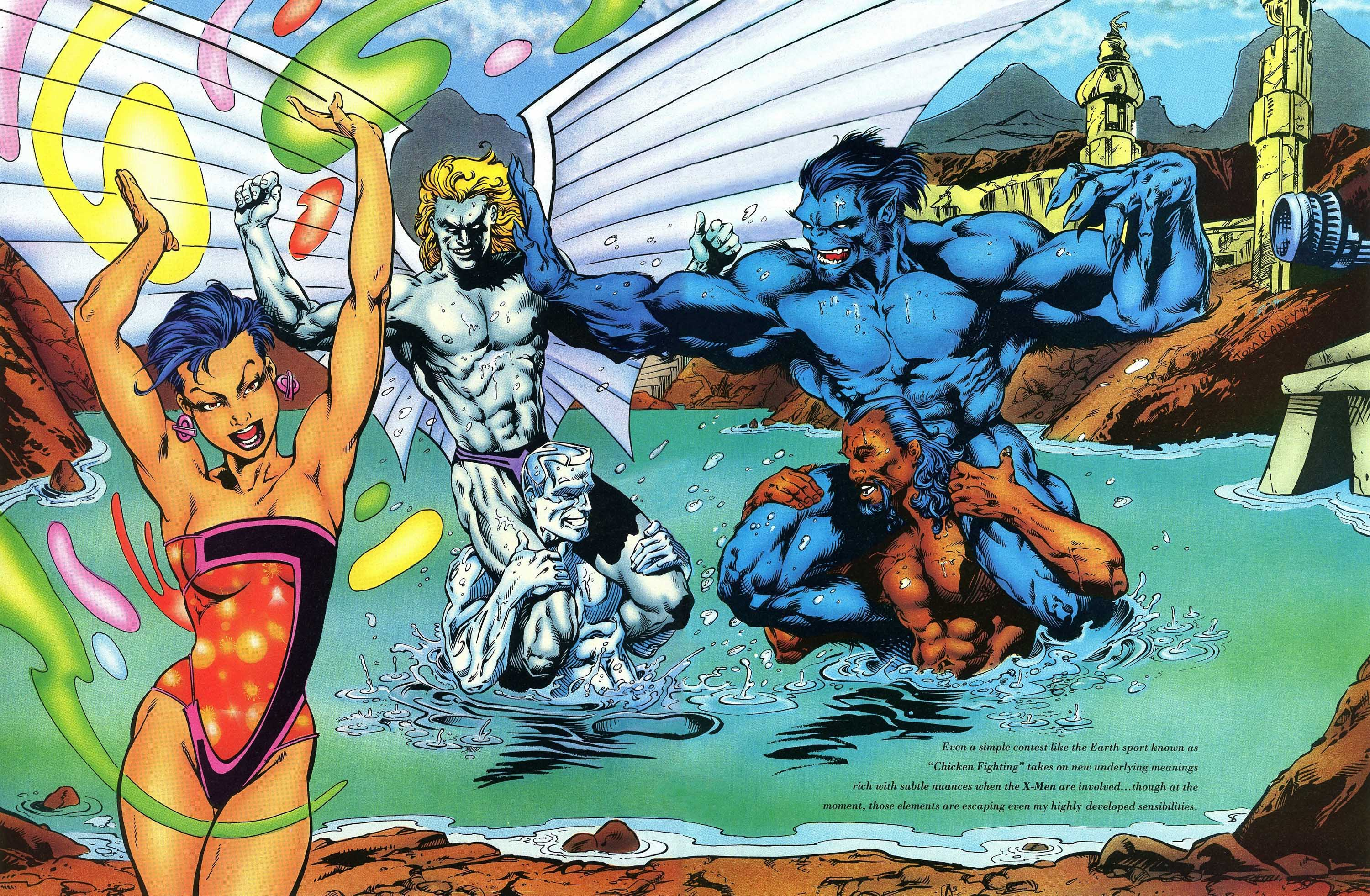 Read online Marvel Swimsuit Special comic -  Issue #3 - 13