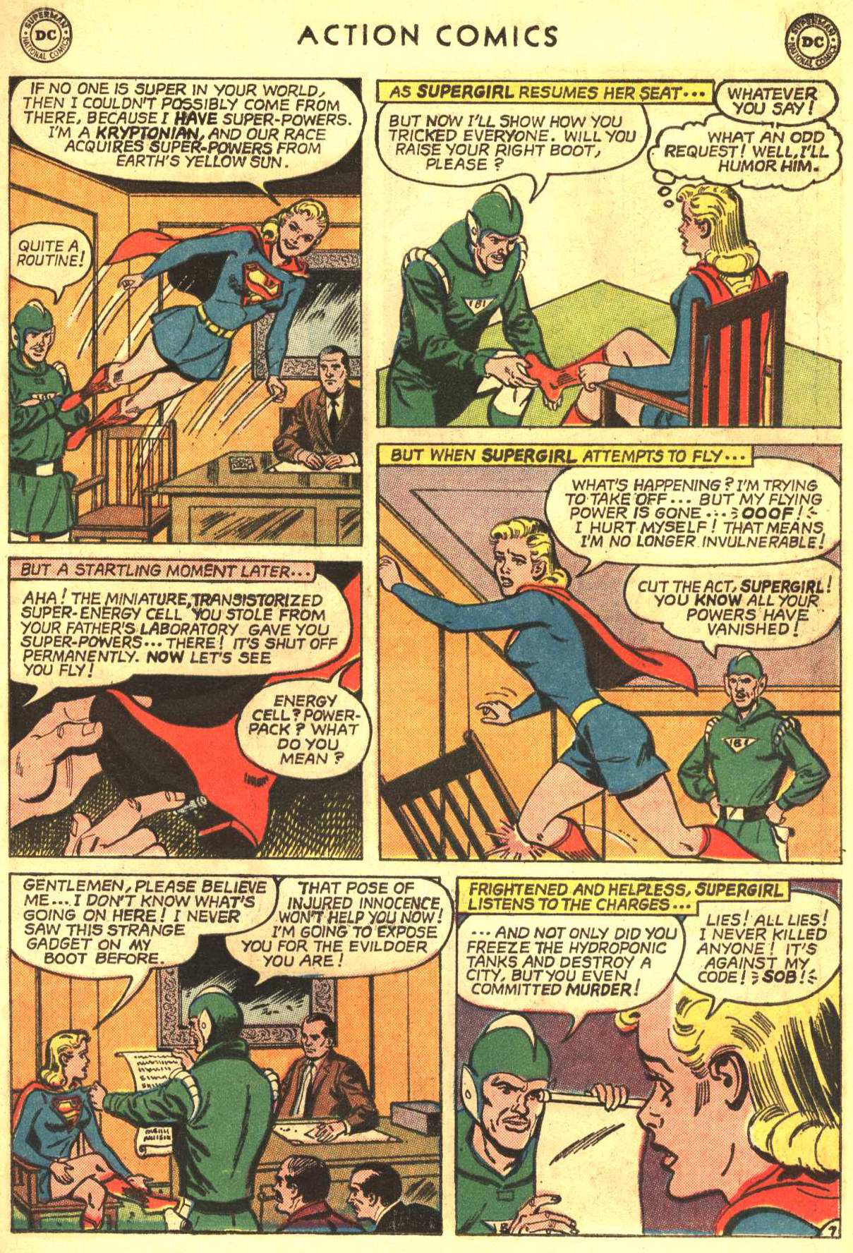 Read online Action Comics (1938) comic -  Issue #327 - 27