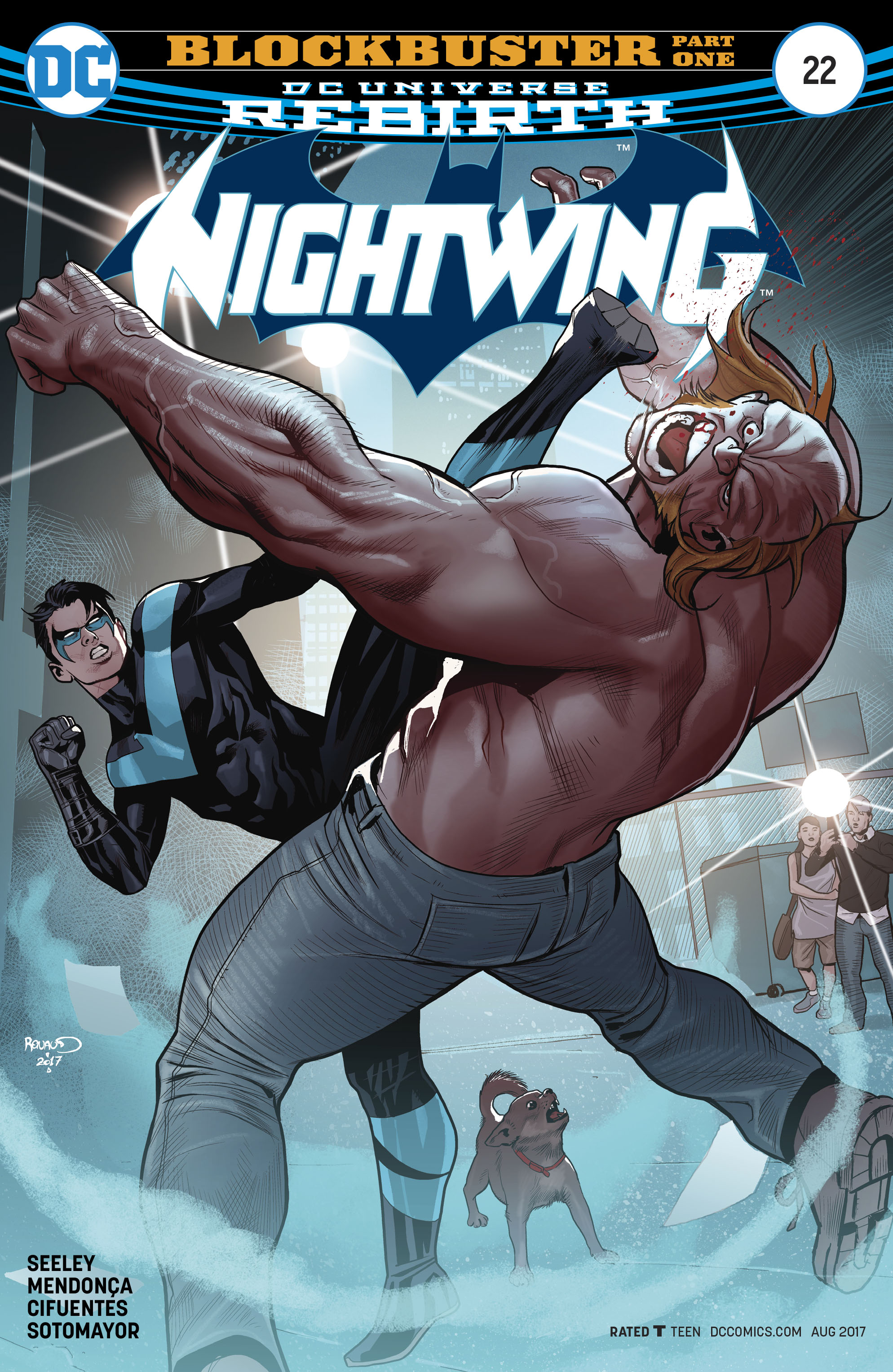 Read online Nightwing (2016) comic -  Issue #22 - 1