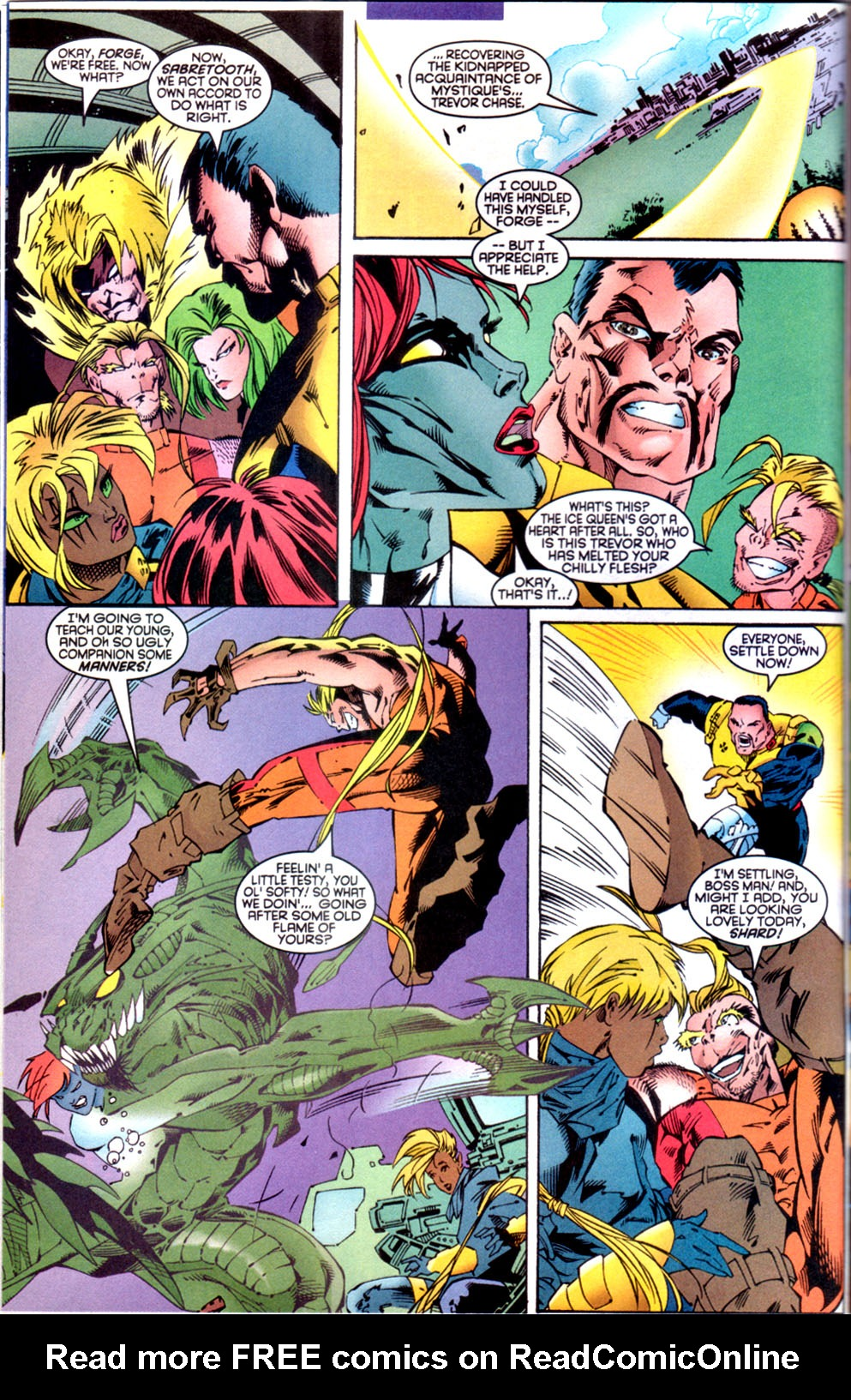 Read online X-Factor (1986) comic -  Issue #134 - 6