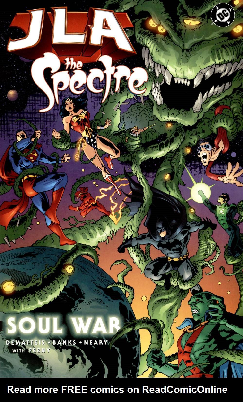 JLA/Spectre: Soul War  issue 2 - Page 1