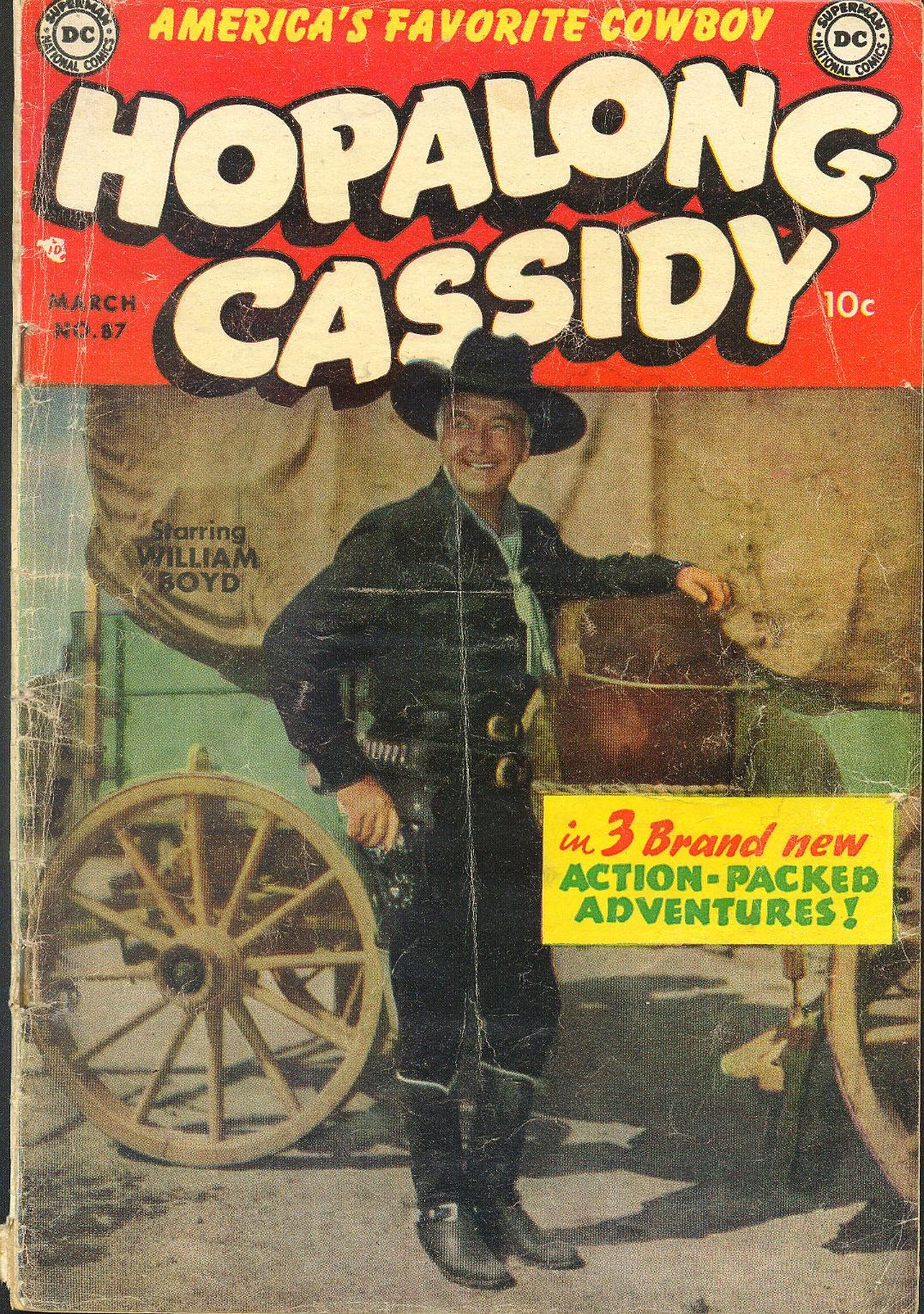 Hopalong Cassidy issue 87 - Page 1