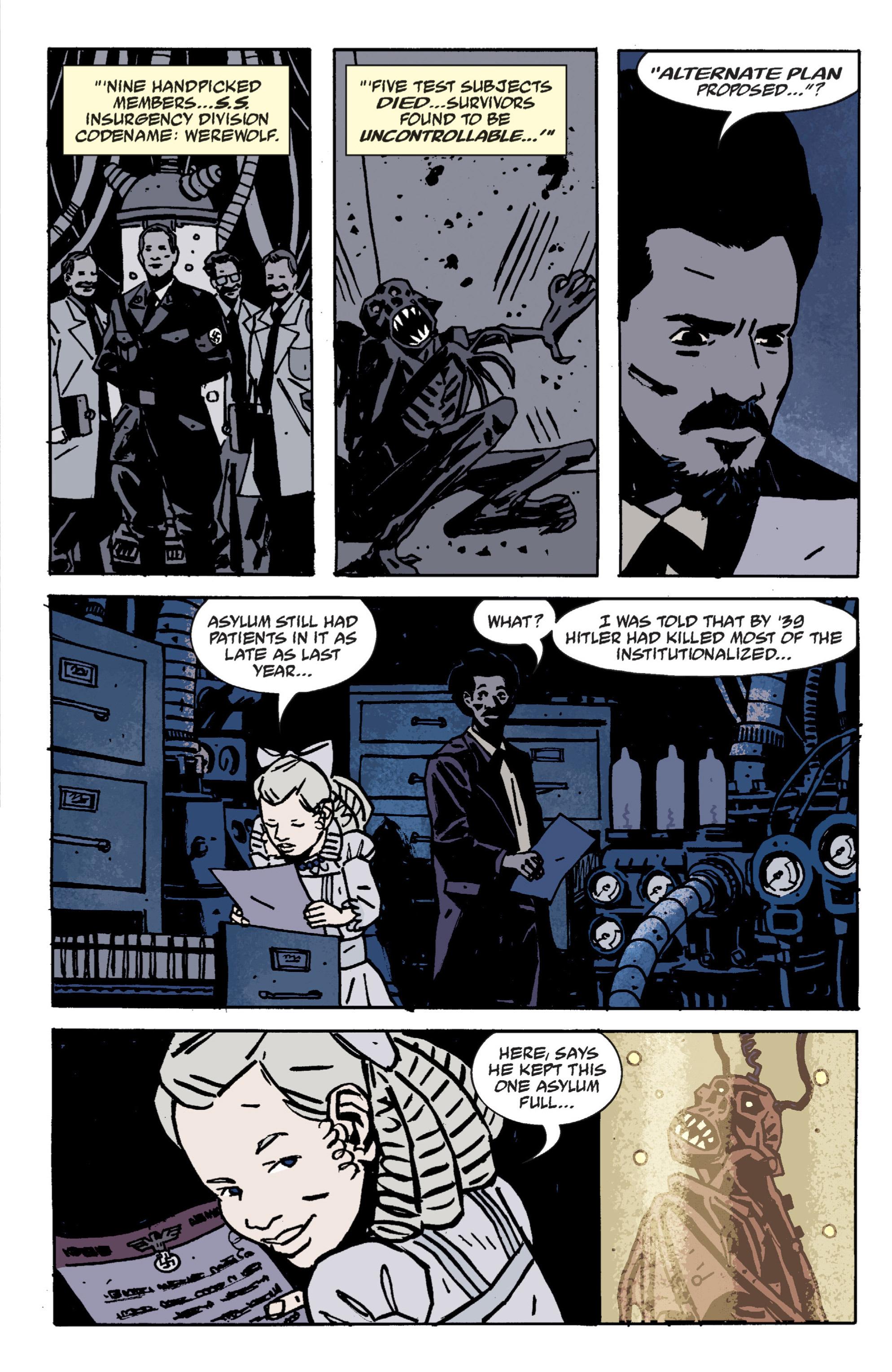 Read online B.P.R.D. (2003) comic -  Issue # TPB 9 - 70