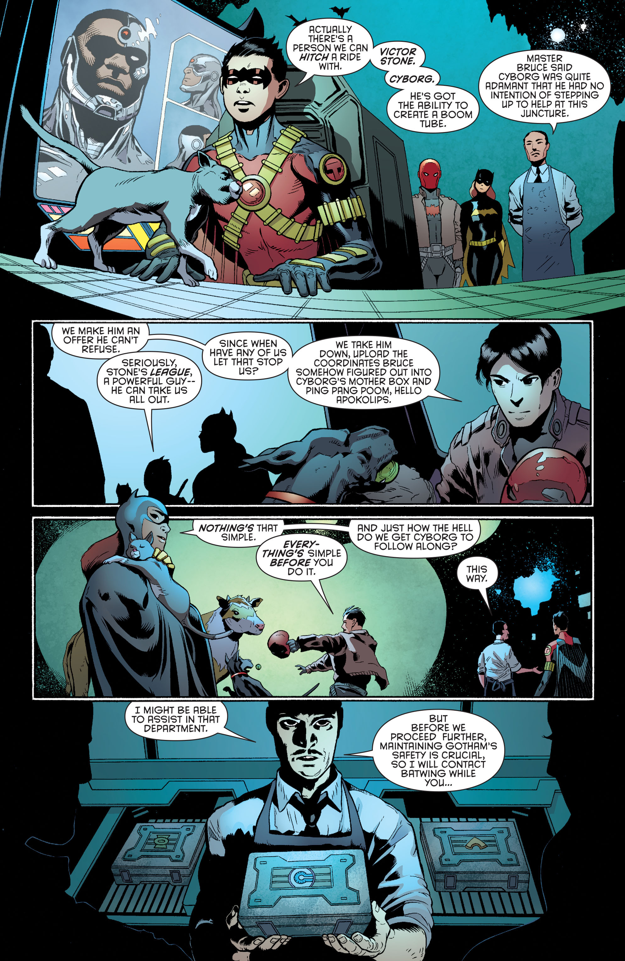 Read online Batman and Robin (2011) comic -  Issue #35 - 8