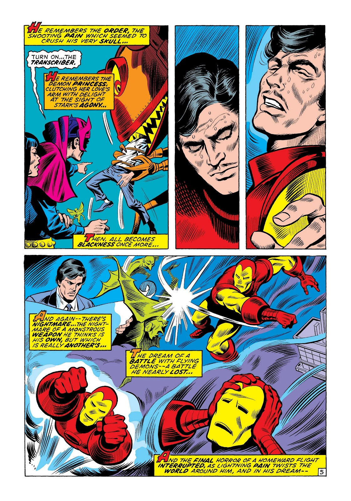 Read online Marvel Masterworks: The Invincible Iron Man comic -  Issue # TPB 8 (Part 1) - 32
