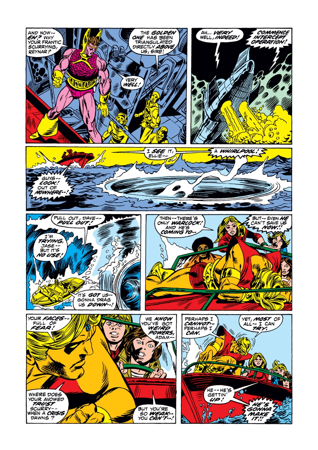 Warlock (1972) issue 3 - Page 8