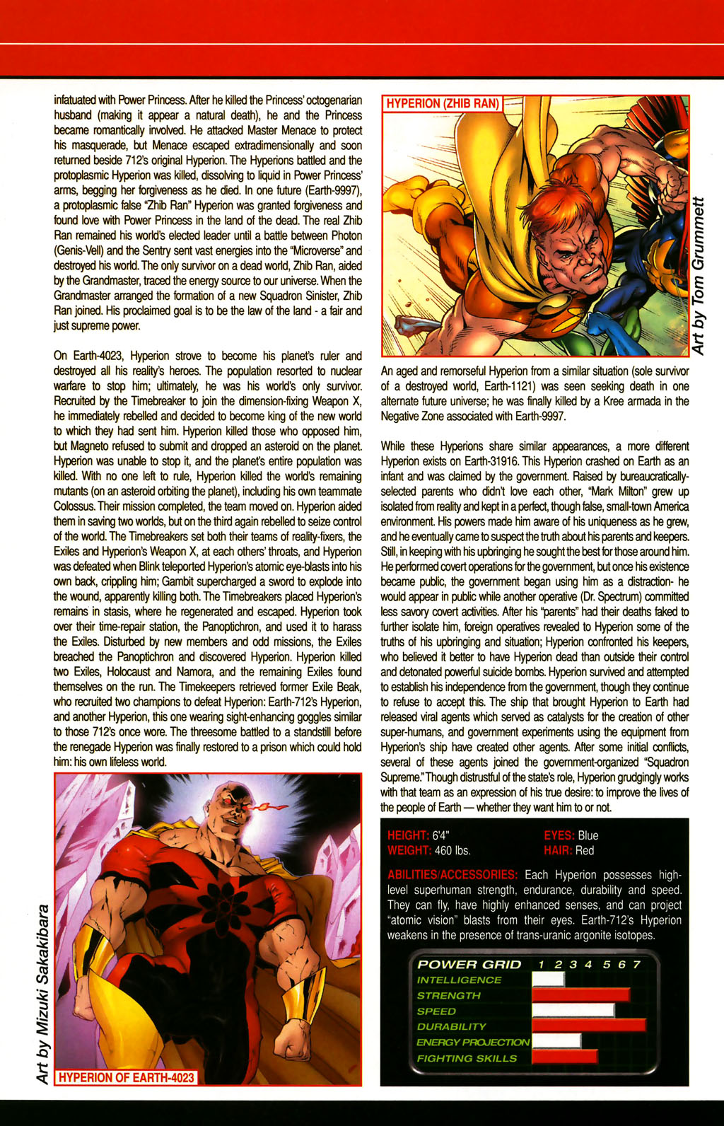 Read online All-New Official Handbook of the Marvel Universe A to Z comic -  Issue #5 - 48