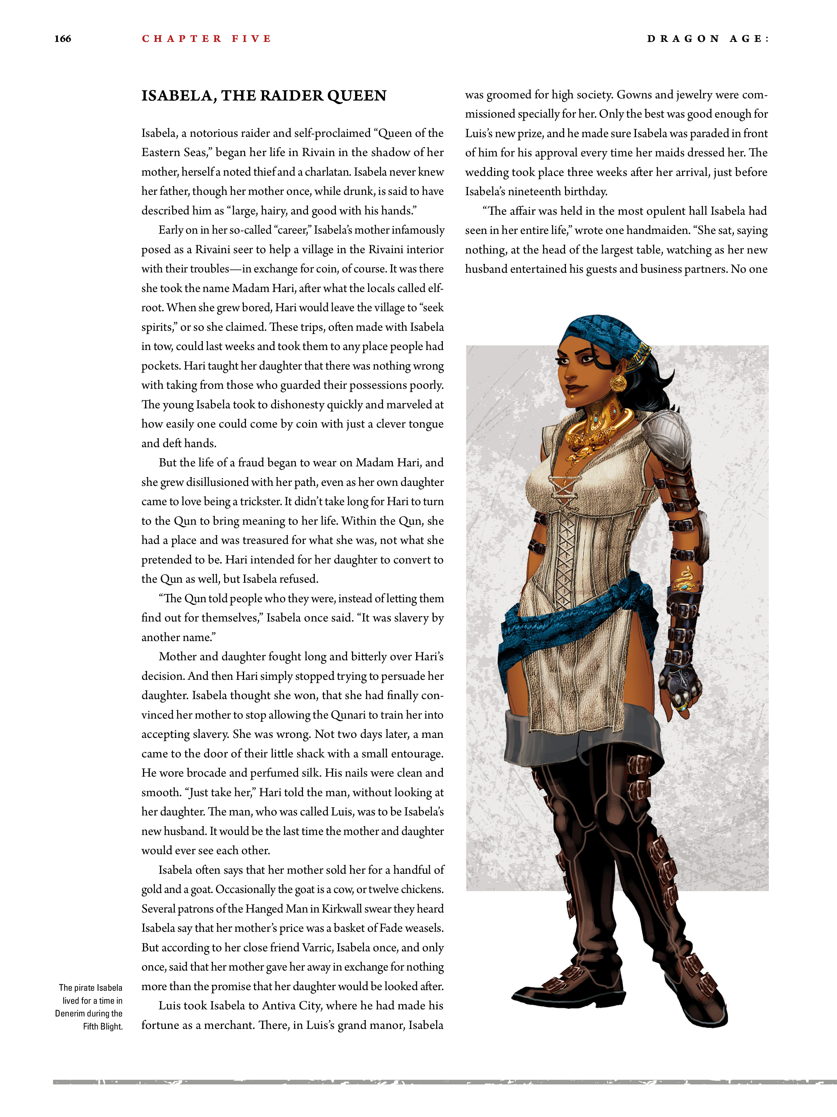Read online Dragon Age: The World of Thedas comic -  Issue # TPB 2 - 161