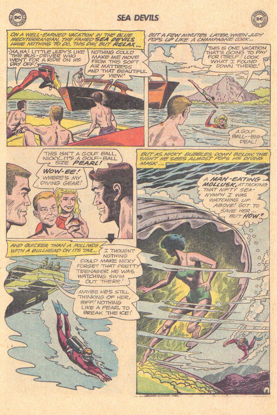 Read online Sea Devils comic -  Issue #16 - 18