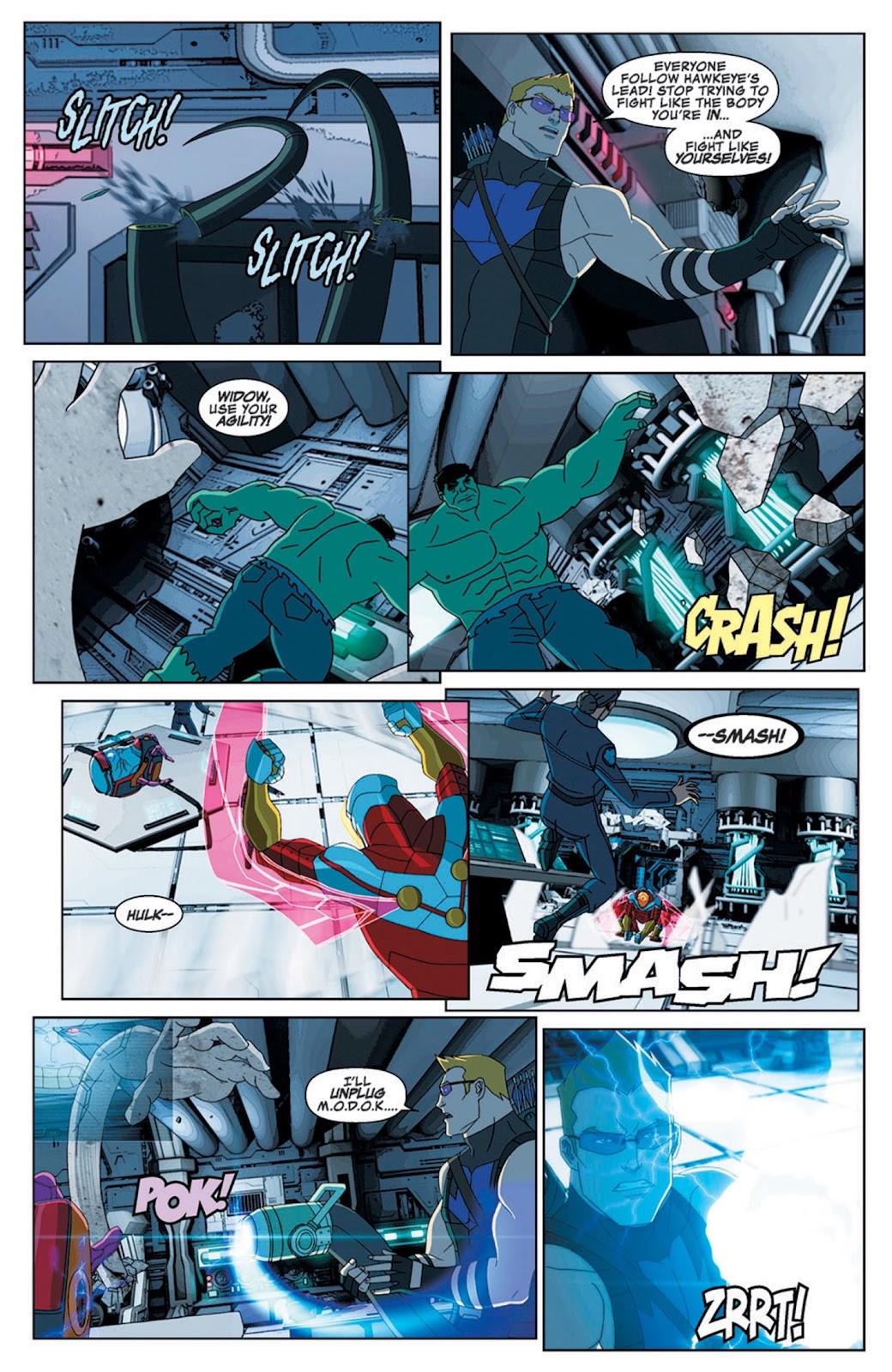 Read online Marvel Universe Avengers Assemble Season 2 comic -  Issue #8 - 27