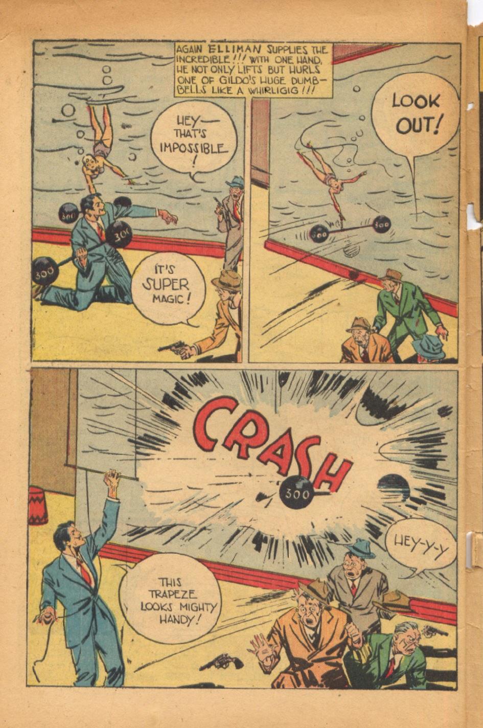 Read online Super-Magician Comics comic -  Issue #54 - 47