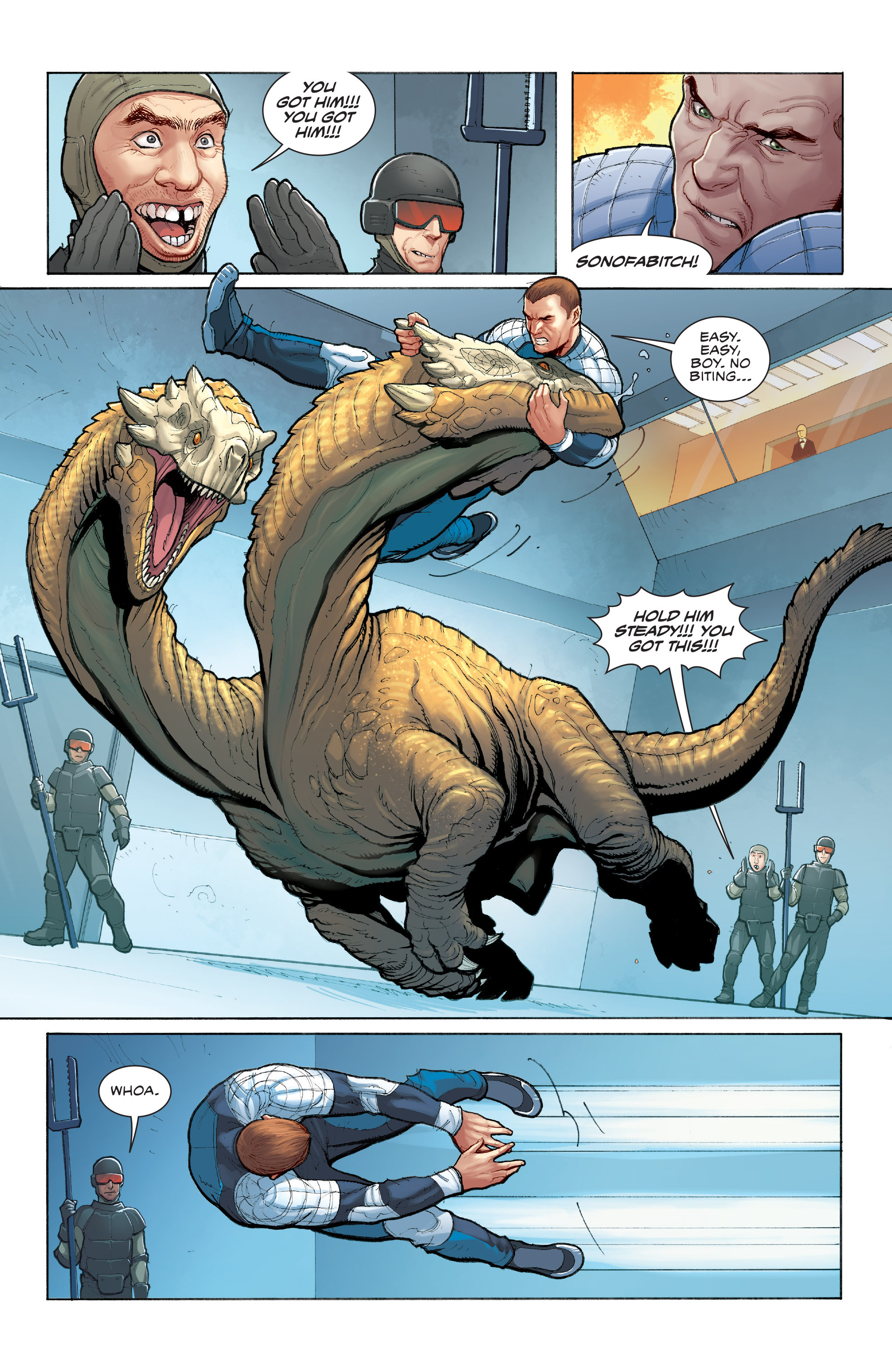 Read online Skybourne comic -  Issue #3 - 13