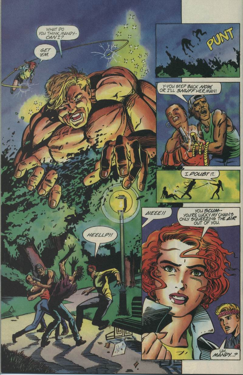 Read online Secret Weapons comic -  Issue #4 - 16