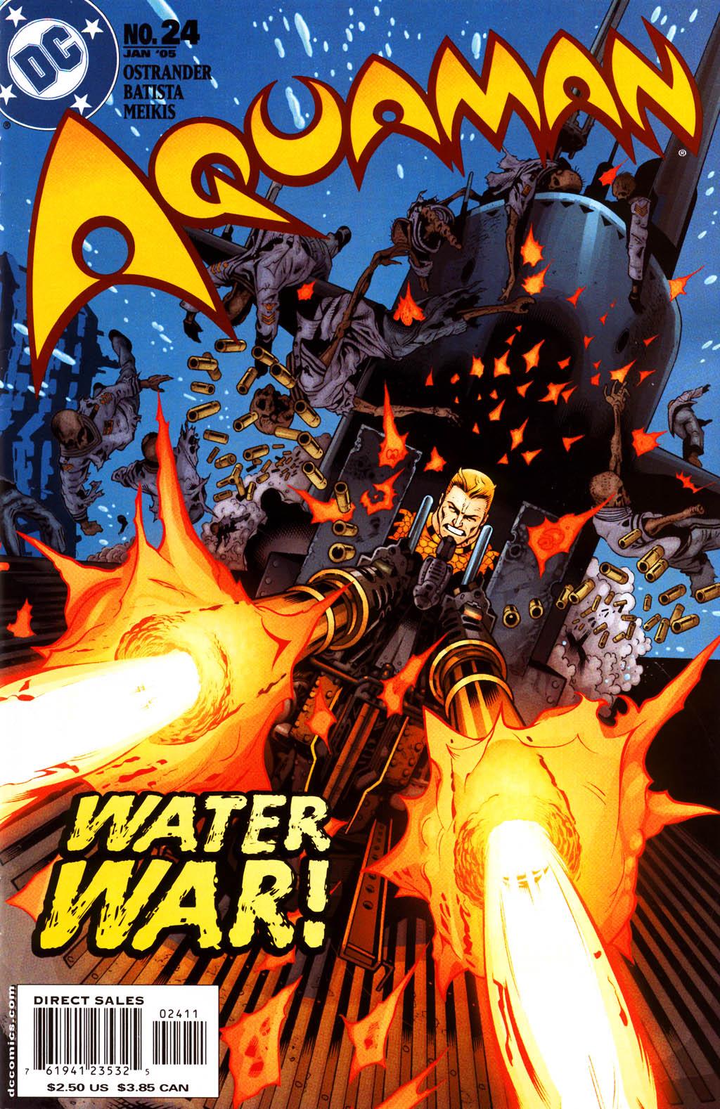 Read online Aquaman (2003) comic -  Issue #24 - 1