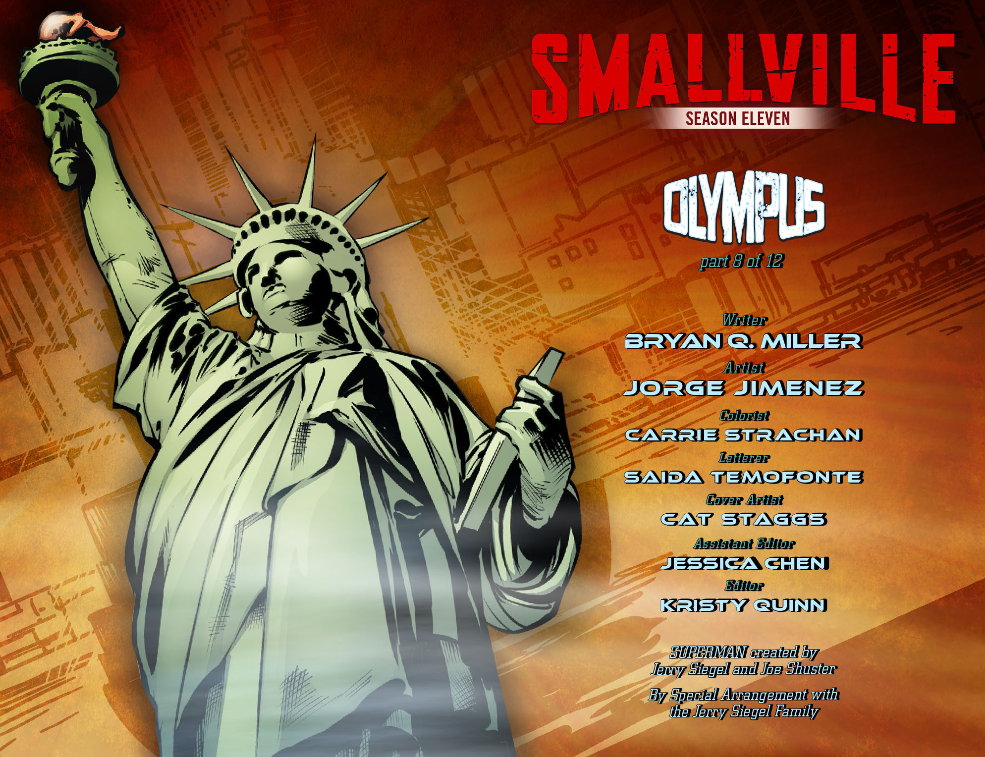 Read online Smallville: Season 11 comic -  Issue #65 - 2