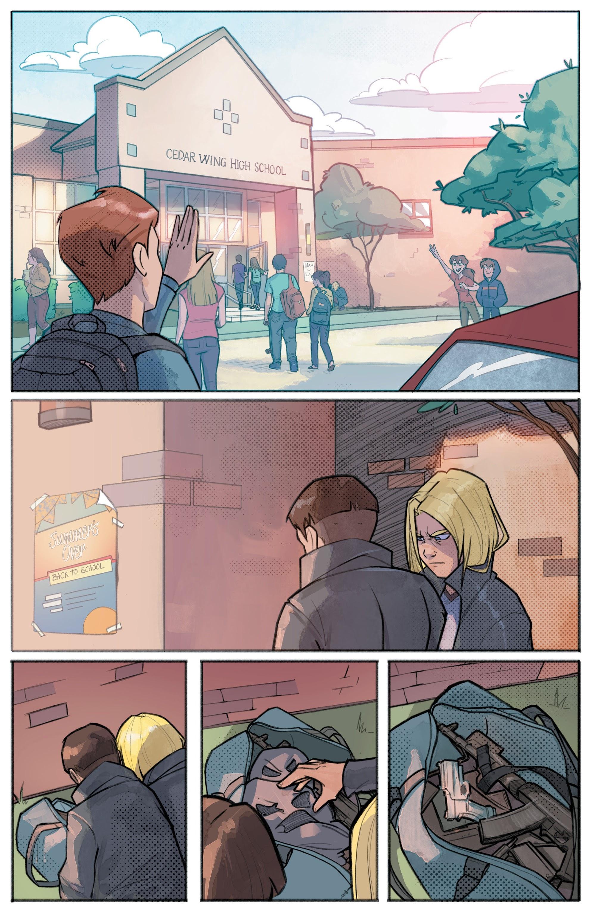 Hit-Girl Season Two 1 Page 3
