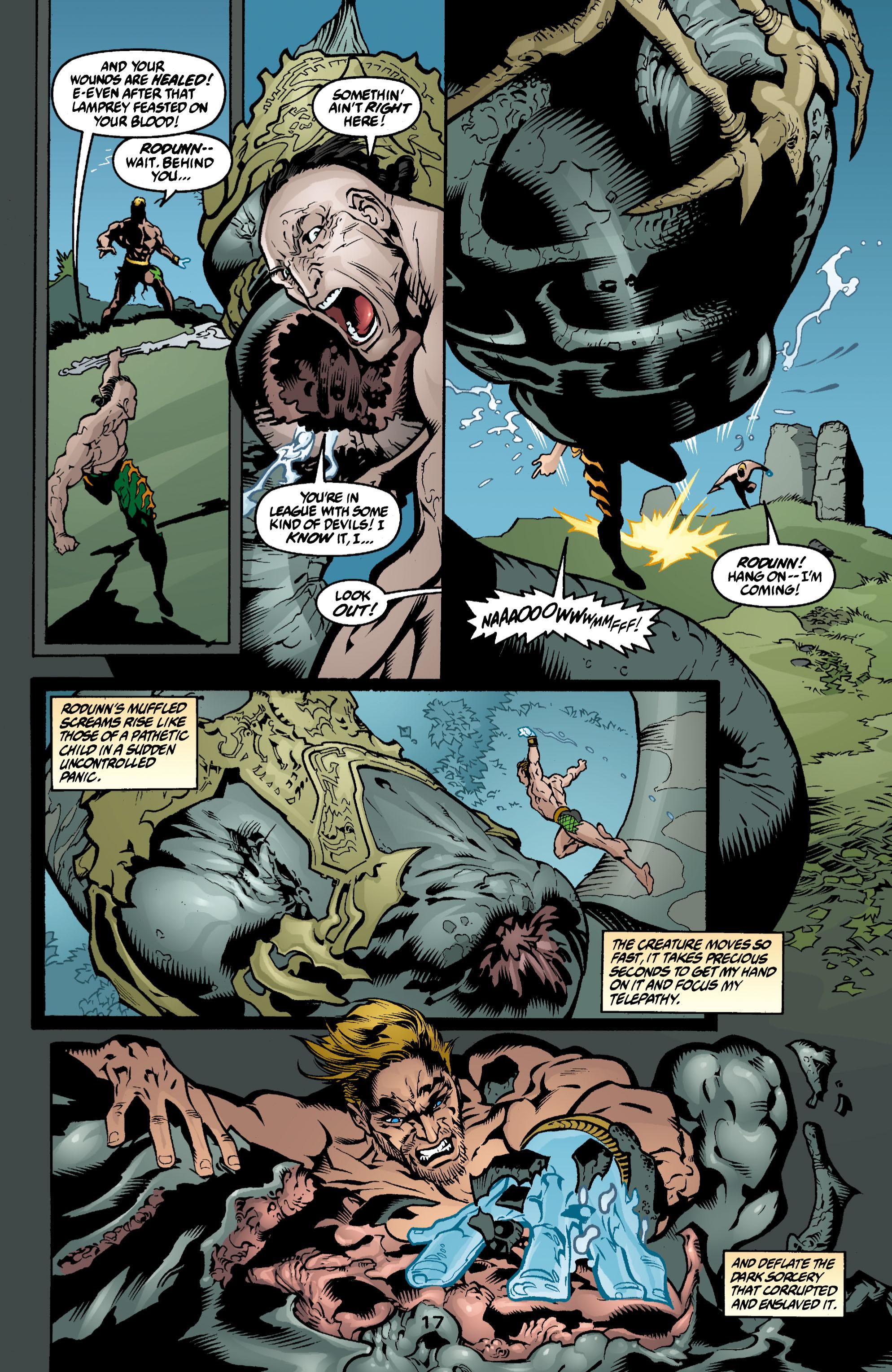 Read online Aquaman (2003) comic -  Issue #3 - 17