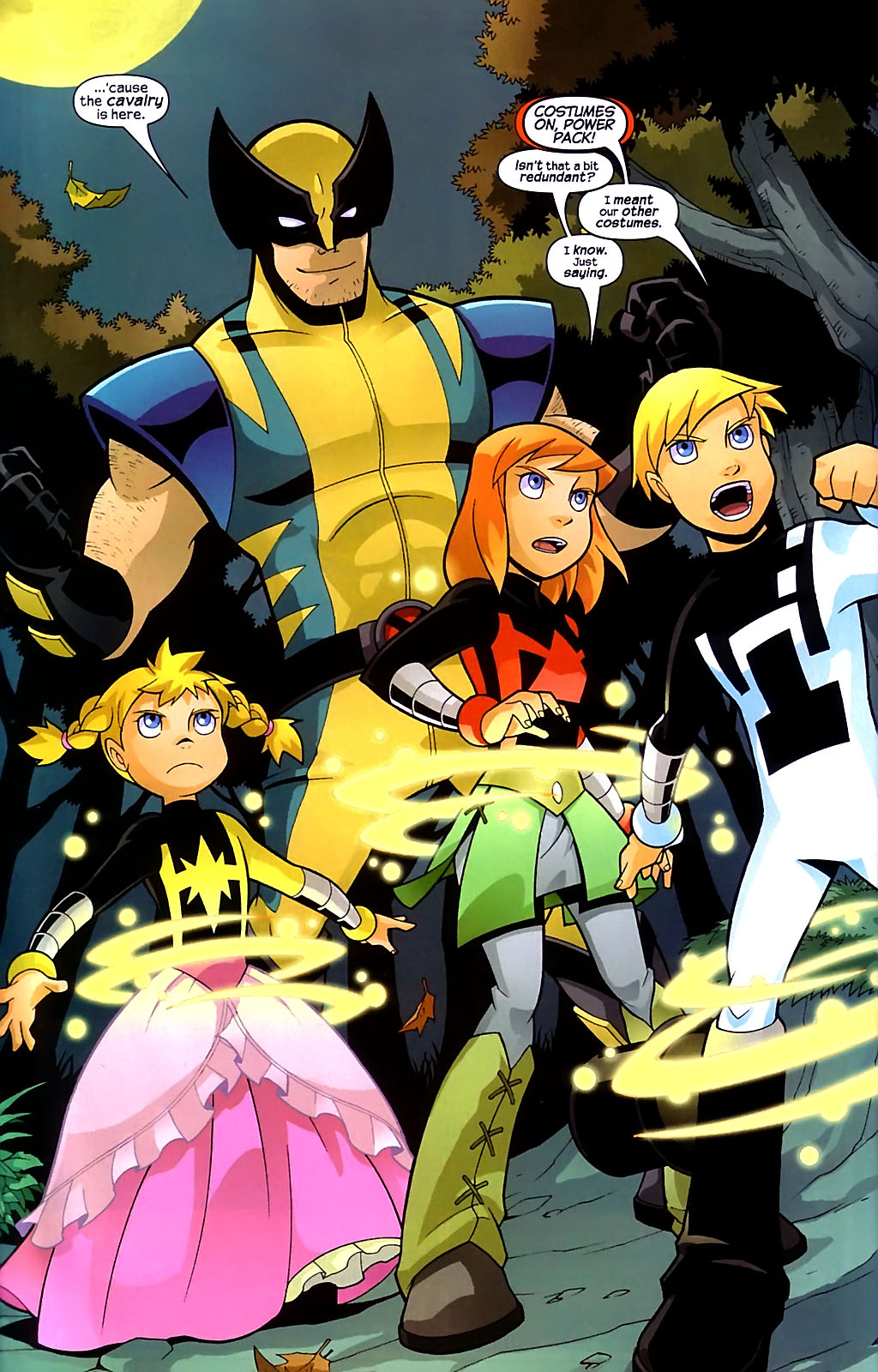 Read online X-Men and Power Pack comic -  Issue #1 - 18
