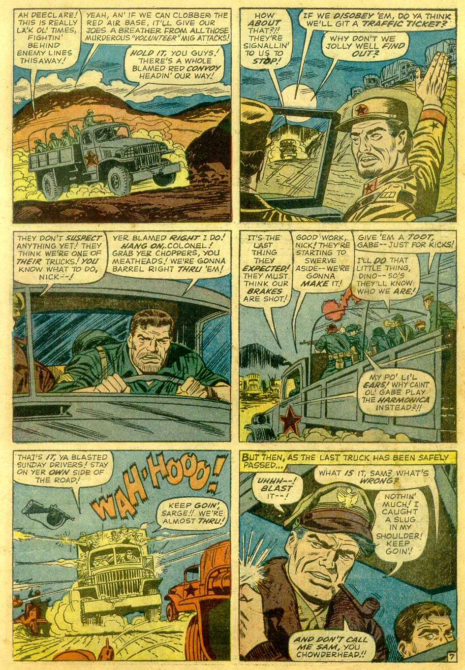 Read online Sgt. Fury comic -  Issue # _Annual 1 - 9