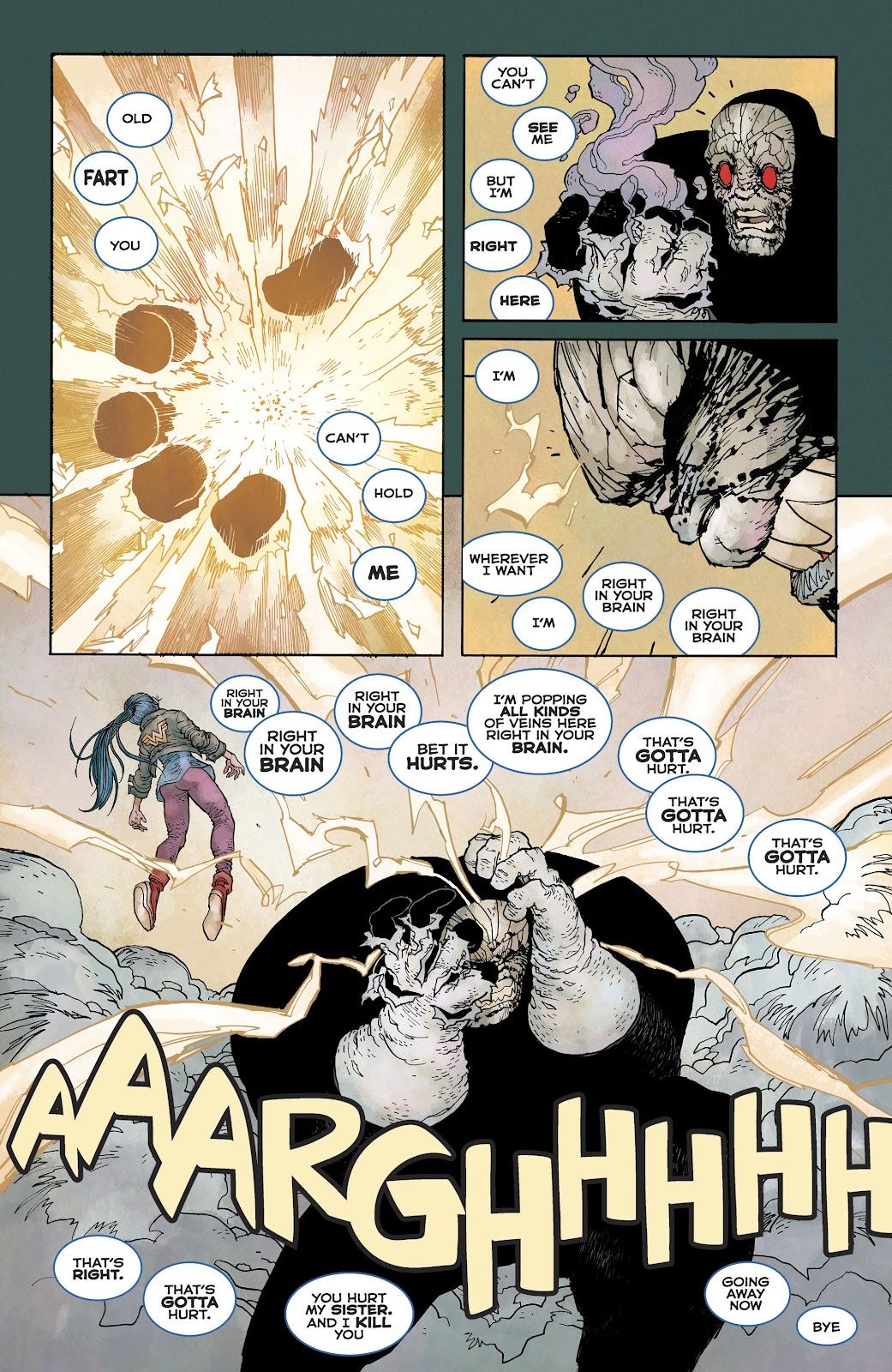 Dark Knight Returns: The Golden Child issue Full - Page 47